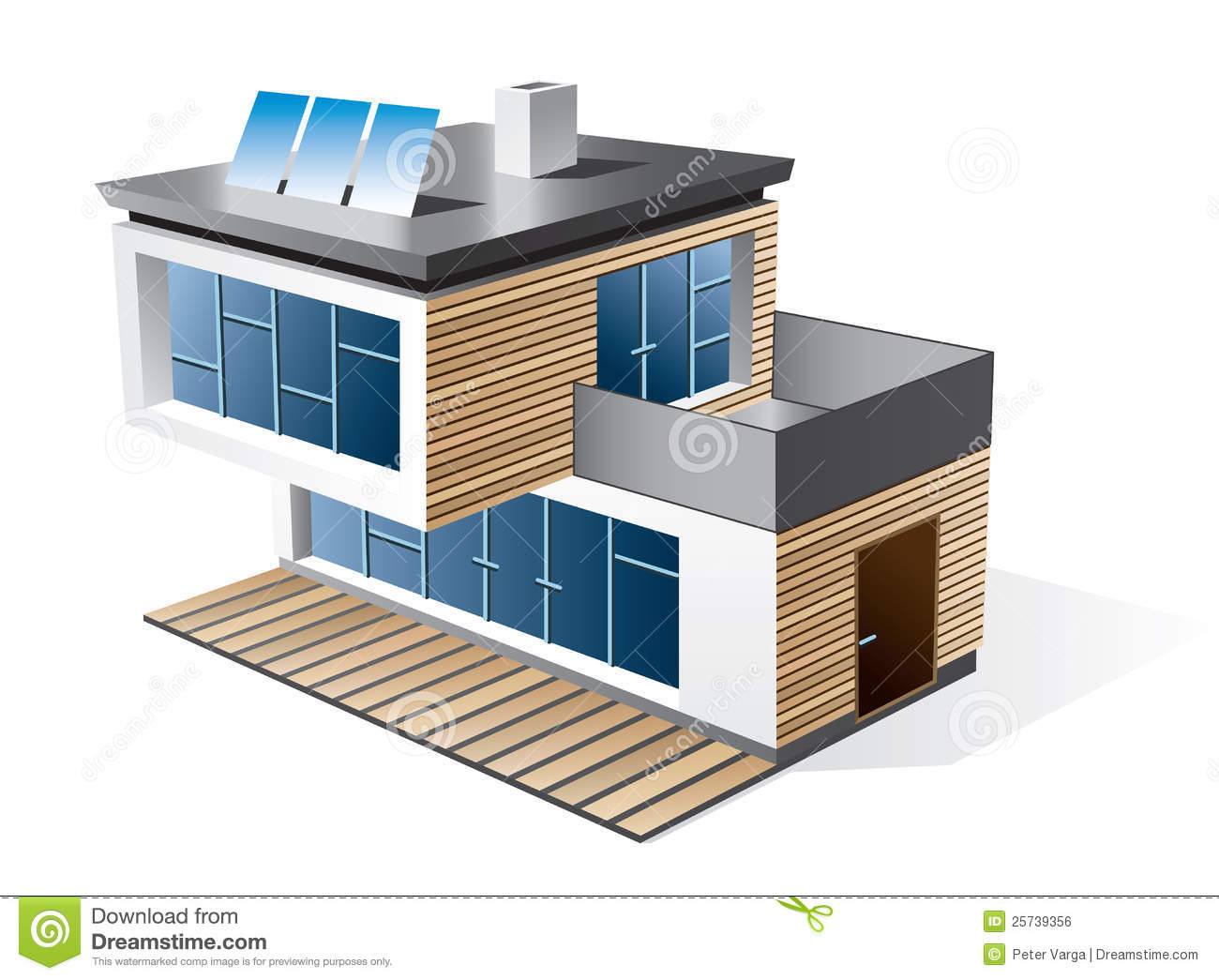 Modern Family House Icon Royalty Free Stock Image Image
