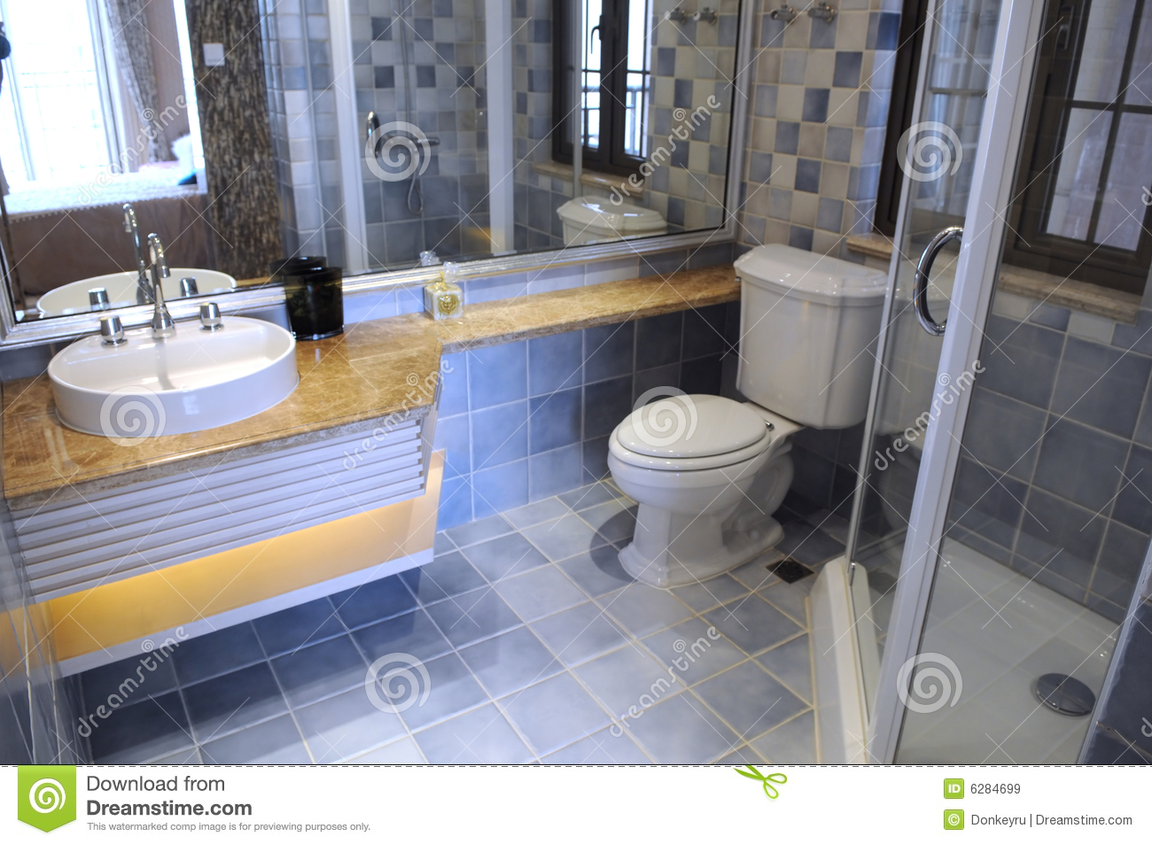 A Modern Family Toilet Royalty Free Stock Images Image 6284699