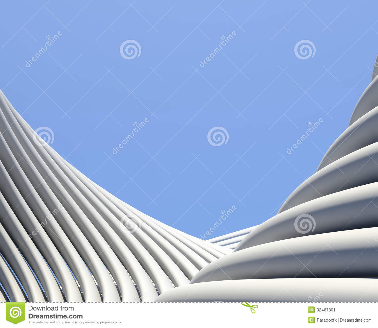 Modern Architecture Wallpaper modern fantastic architectural wallpaper stock image - image: 32467801