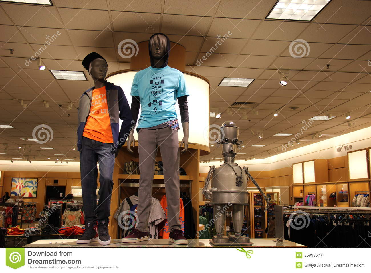 Teens Fashion Retail Store Editorial Photography - Image ...