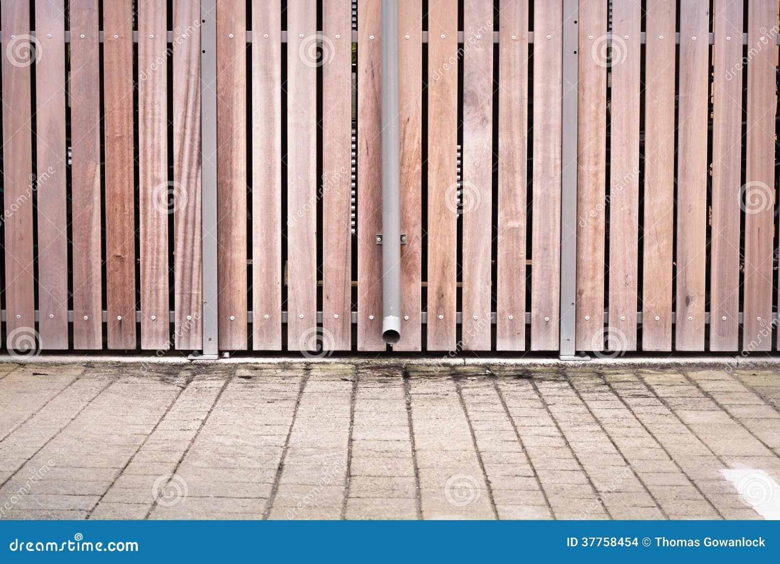 Modern fence stock images   image: 37758454