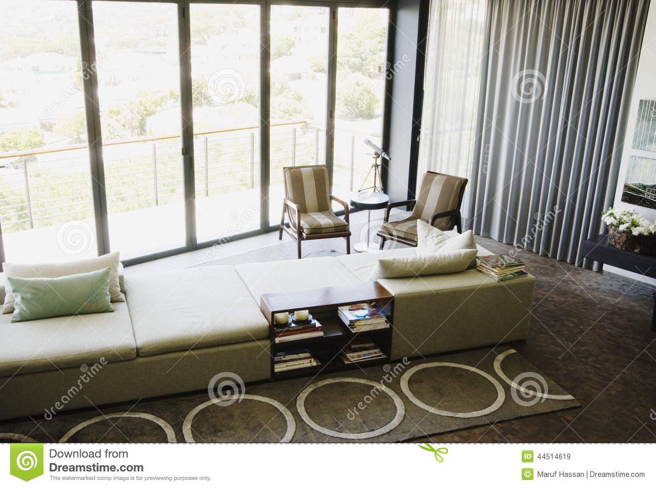 Download Modern Fireplace With Showpiece Stock Image   Image Of Bedroom,  Dining: 44514619