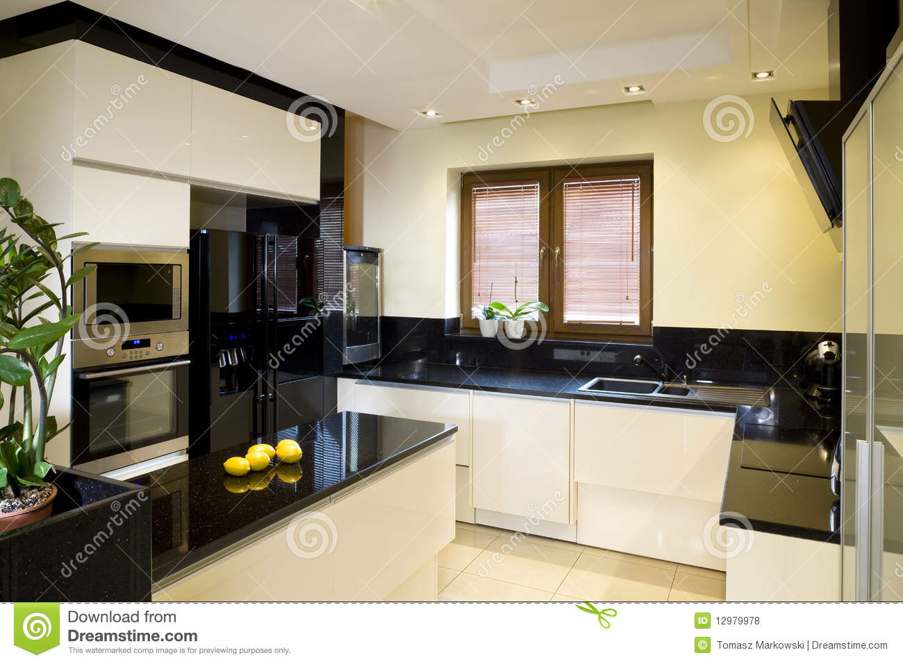 Very Best Royalty Free Stock Photos: Modern fitted kitchen 1300 x 957 · 139 kB · jpeg