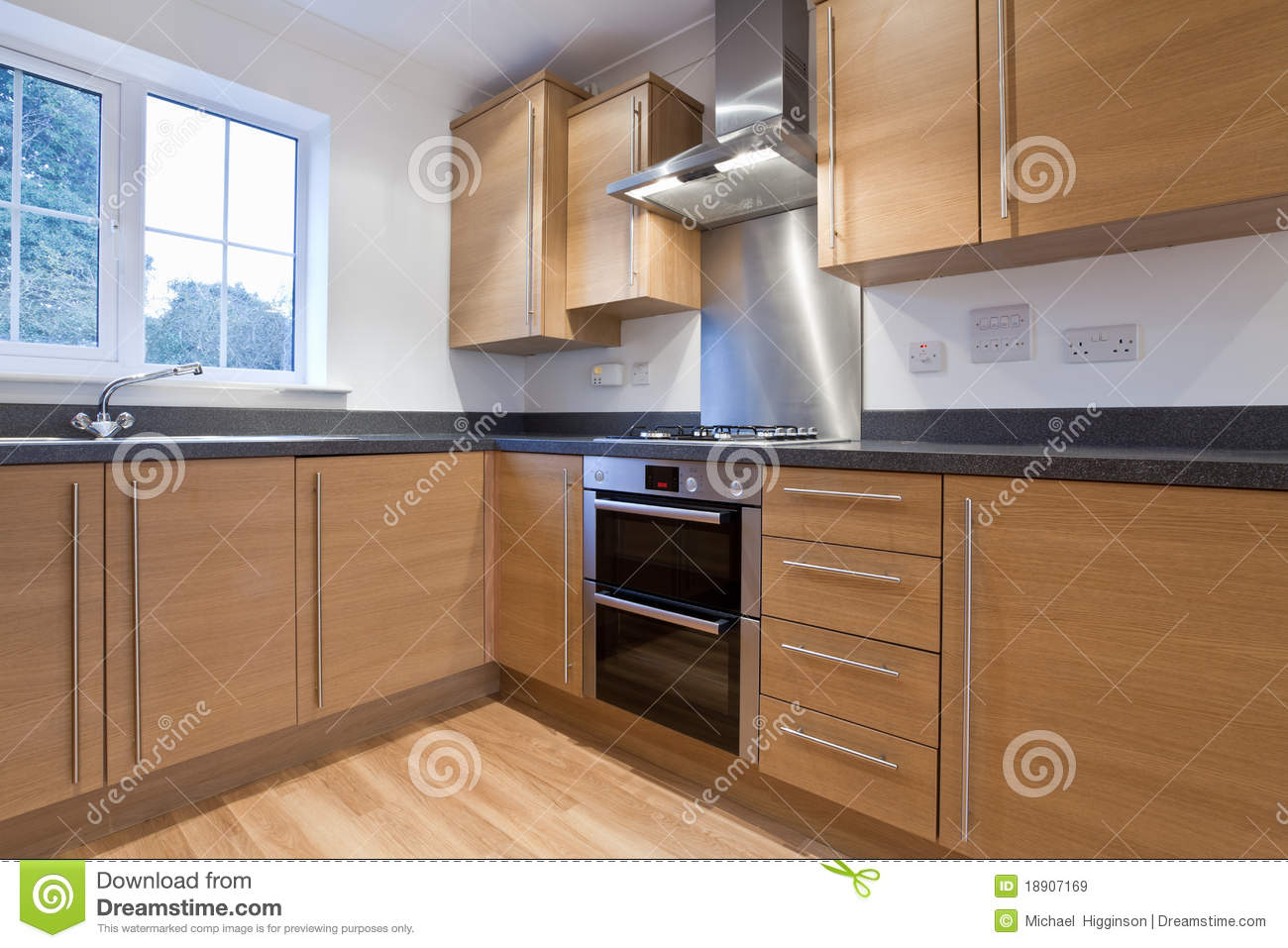 Modern fitted kitchen royalty free stock images image for Modern fitted kitchen