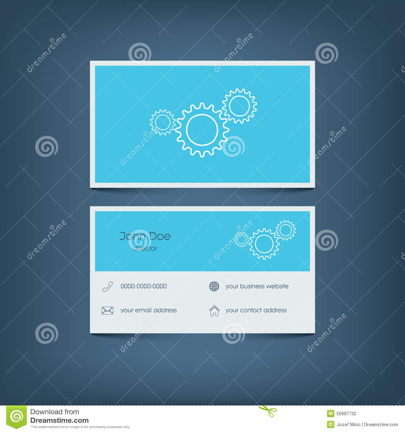 Modern flat design business card template graphic stock vector modern flat design business card template graphic stock photography accmission Gallery