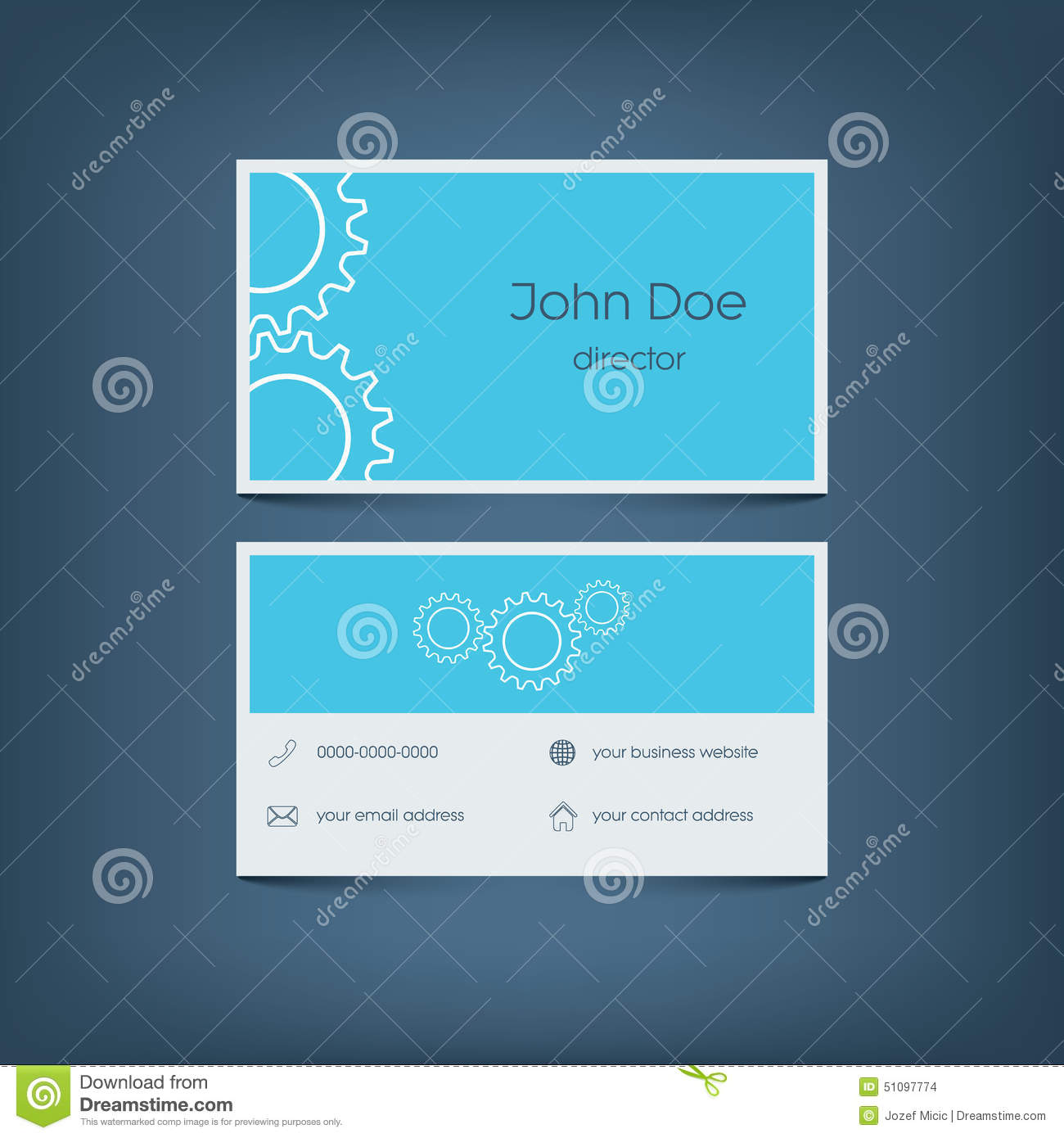 Modern flat design business card template graphic stock vector download modern flat design business card template graphic stock vector illustration of flat cheaphphosting Gallery