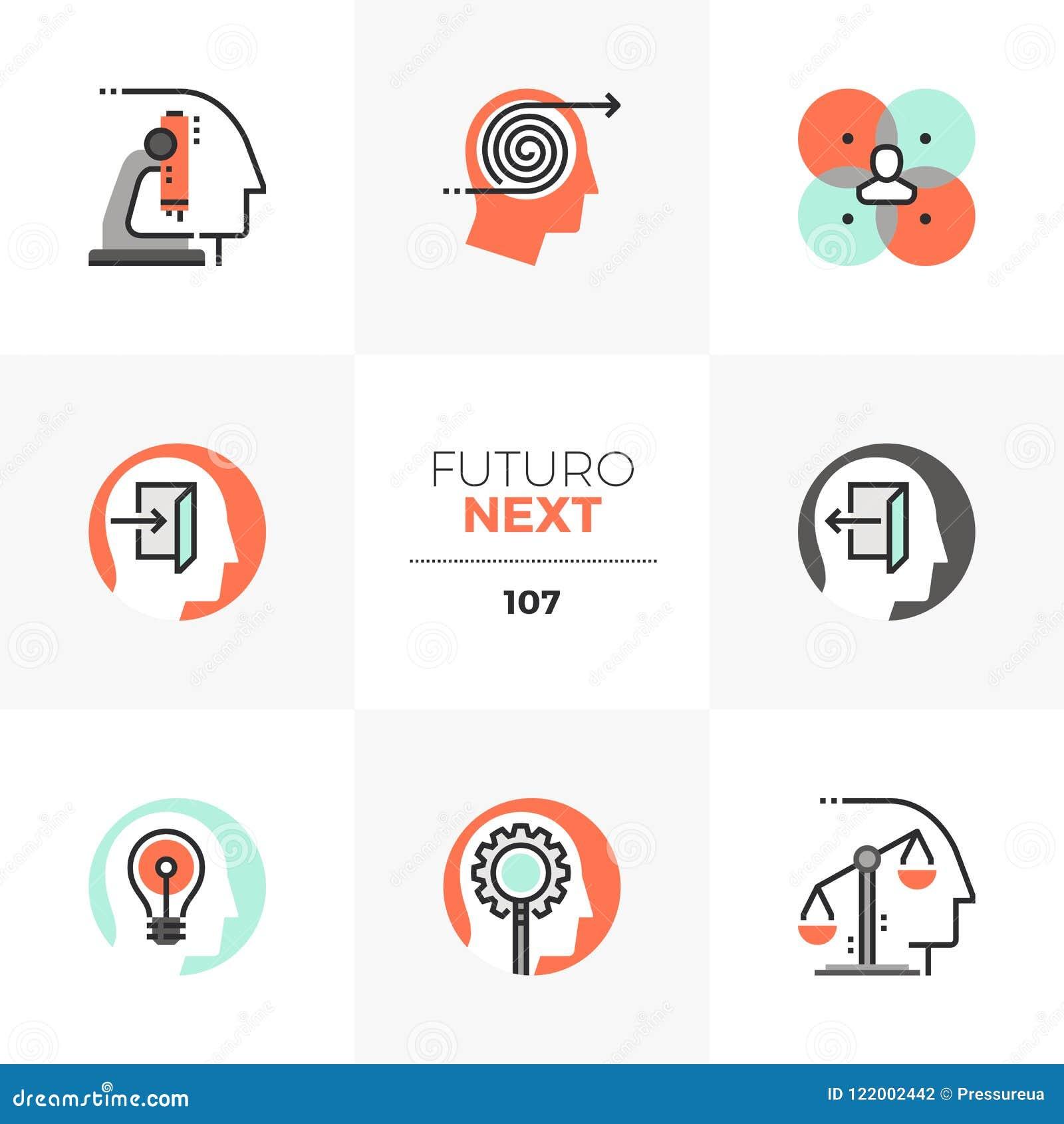 Mental Process Futuro Next Icons