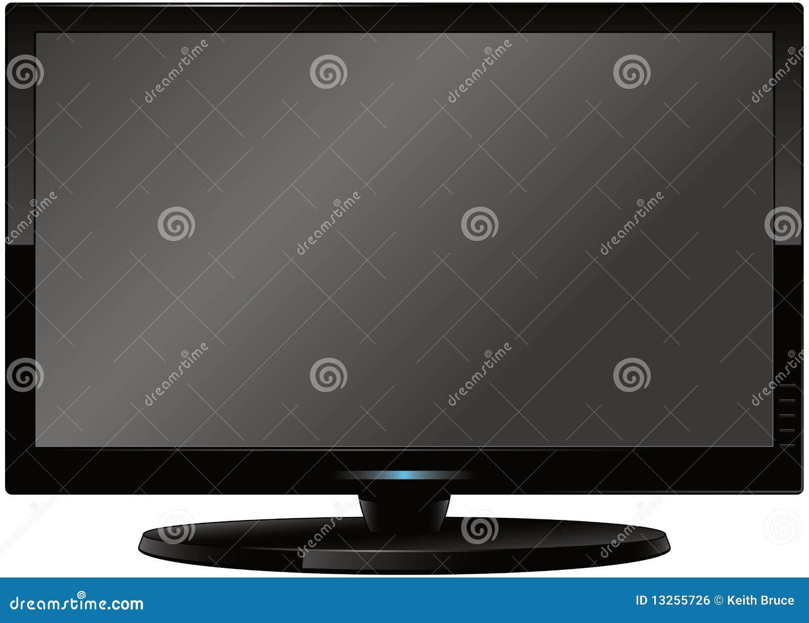 Modern Flatscreen HD TV