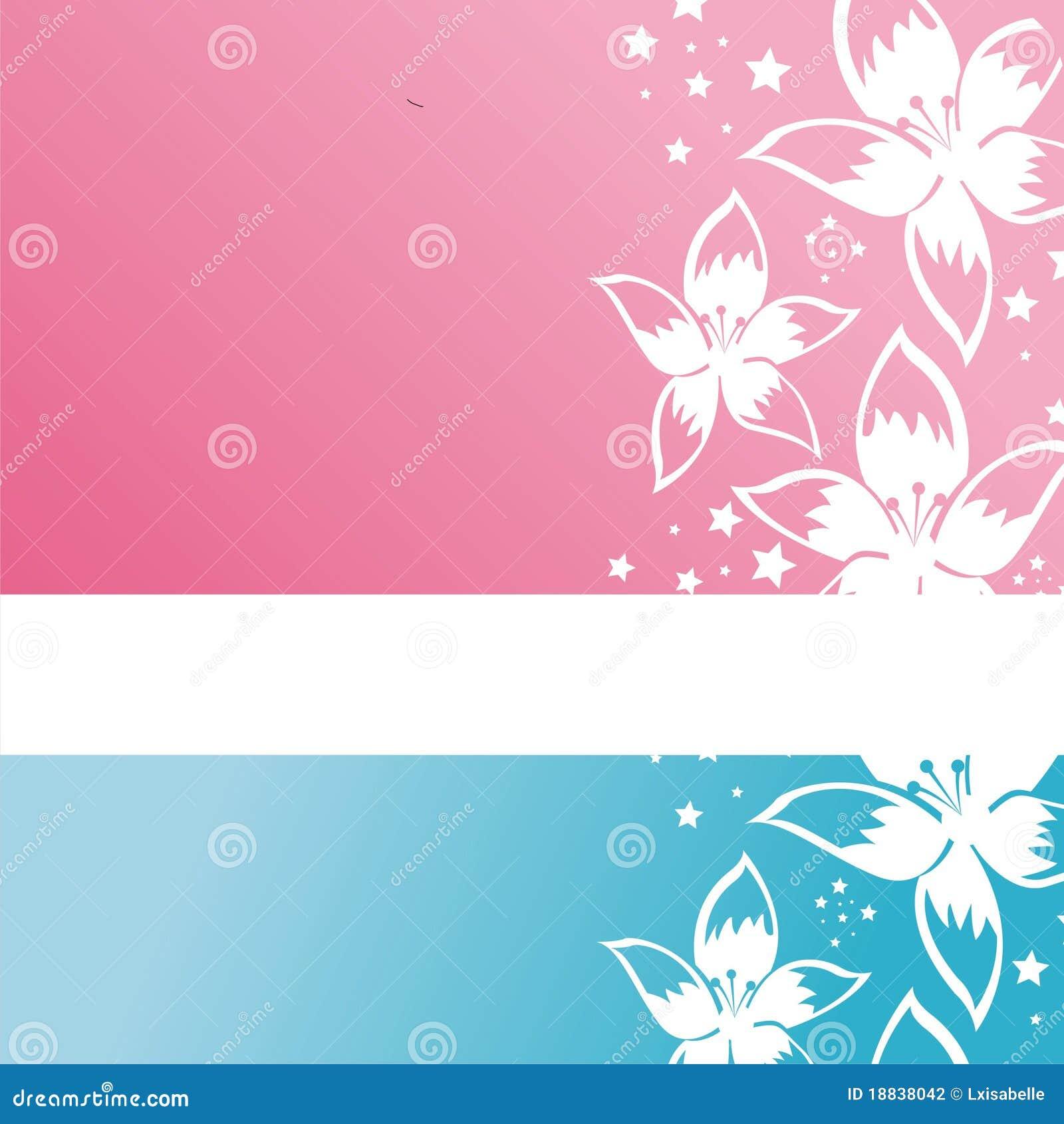 Download Modern Floral Background Stock Vector. Illustration Of Flower    18838042