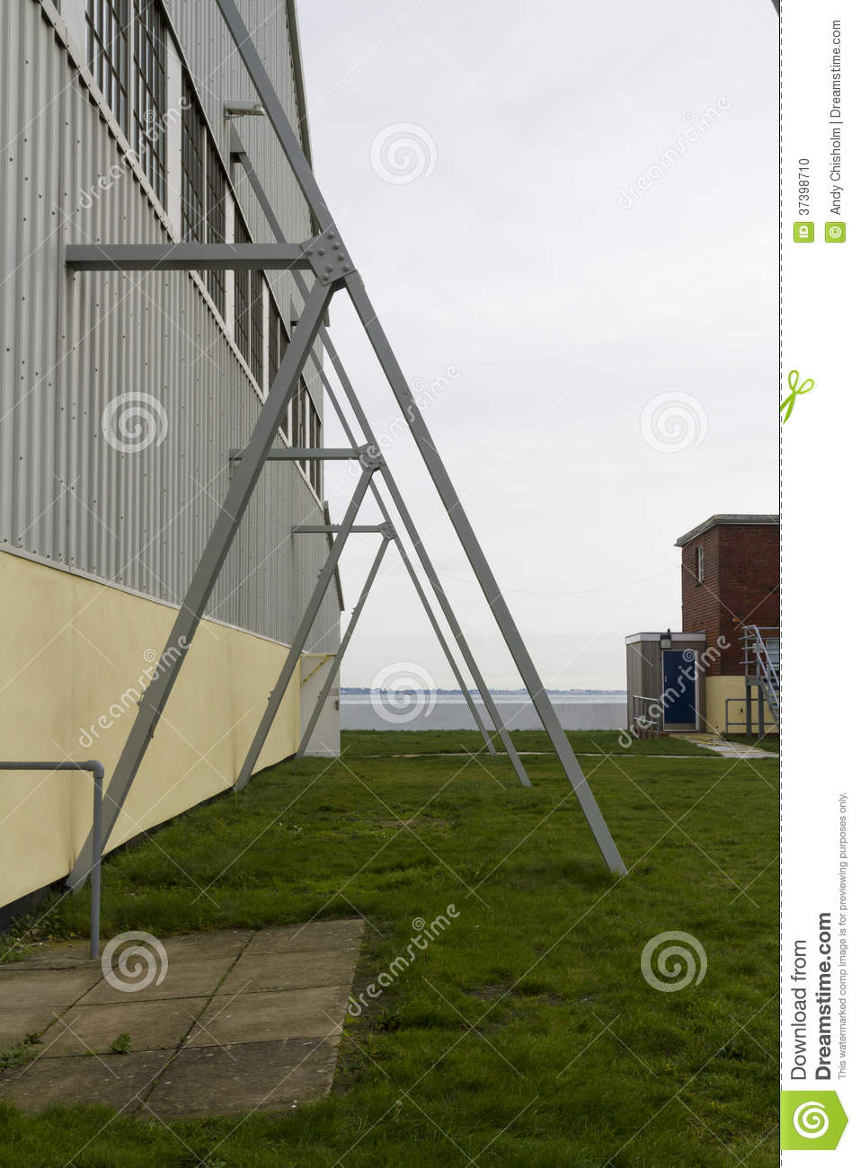 Modern Flying Buttress Stock Photo Image 37398710