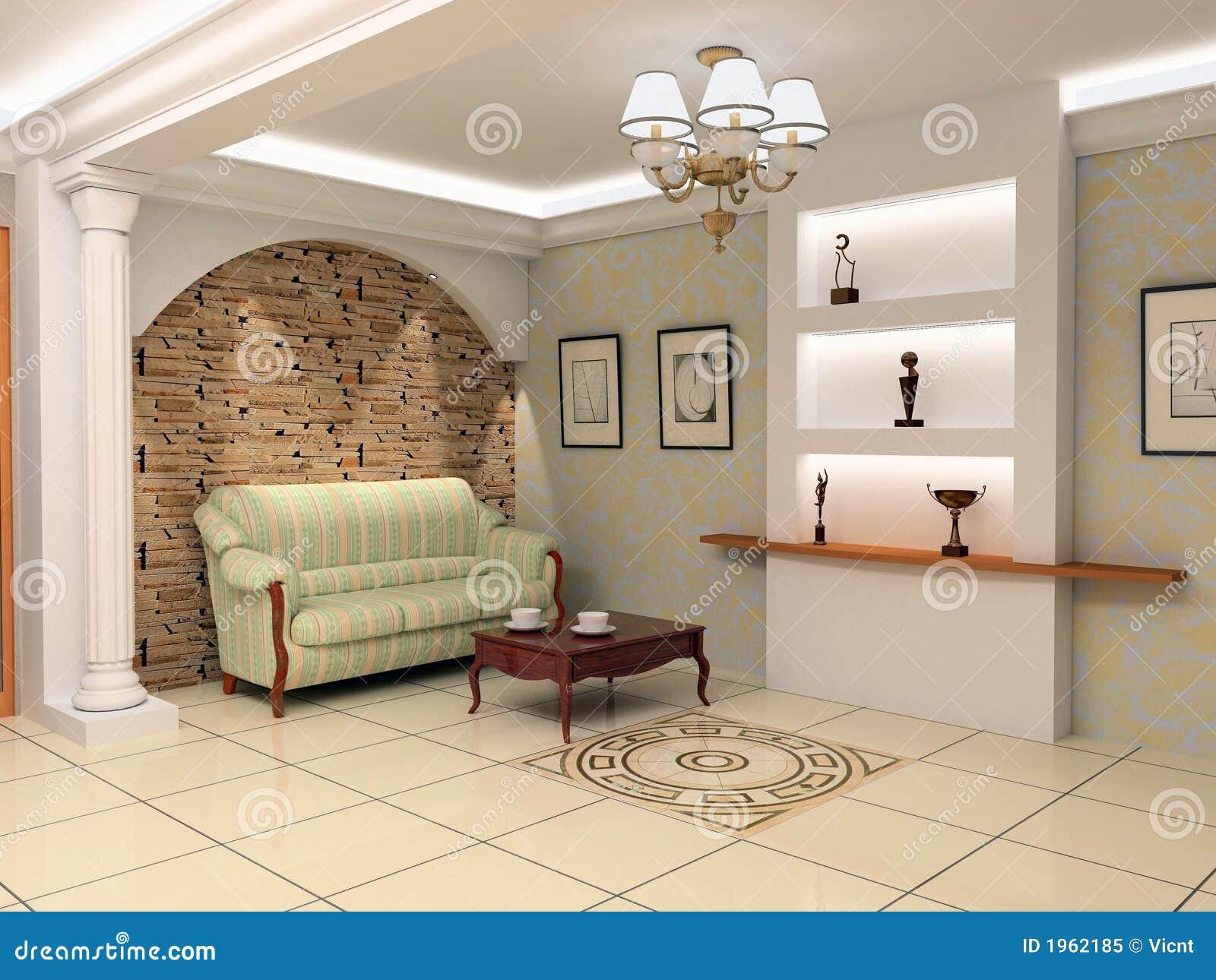 Apartment Foyer Interior Design : Modern foyer interior royalty free stock photo image