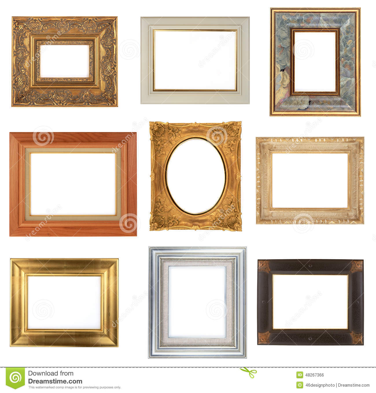 Modern Frames Photo Frame Stock Photo Image Of Bordering