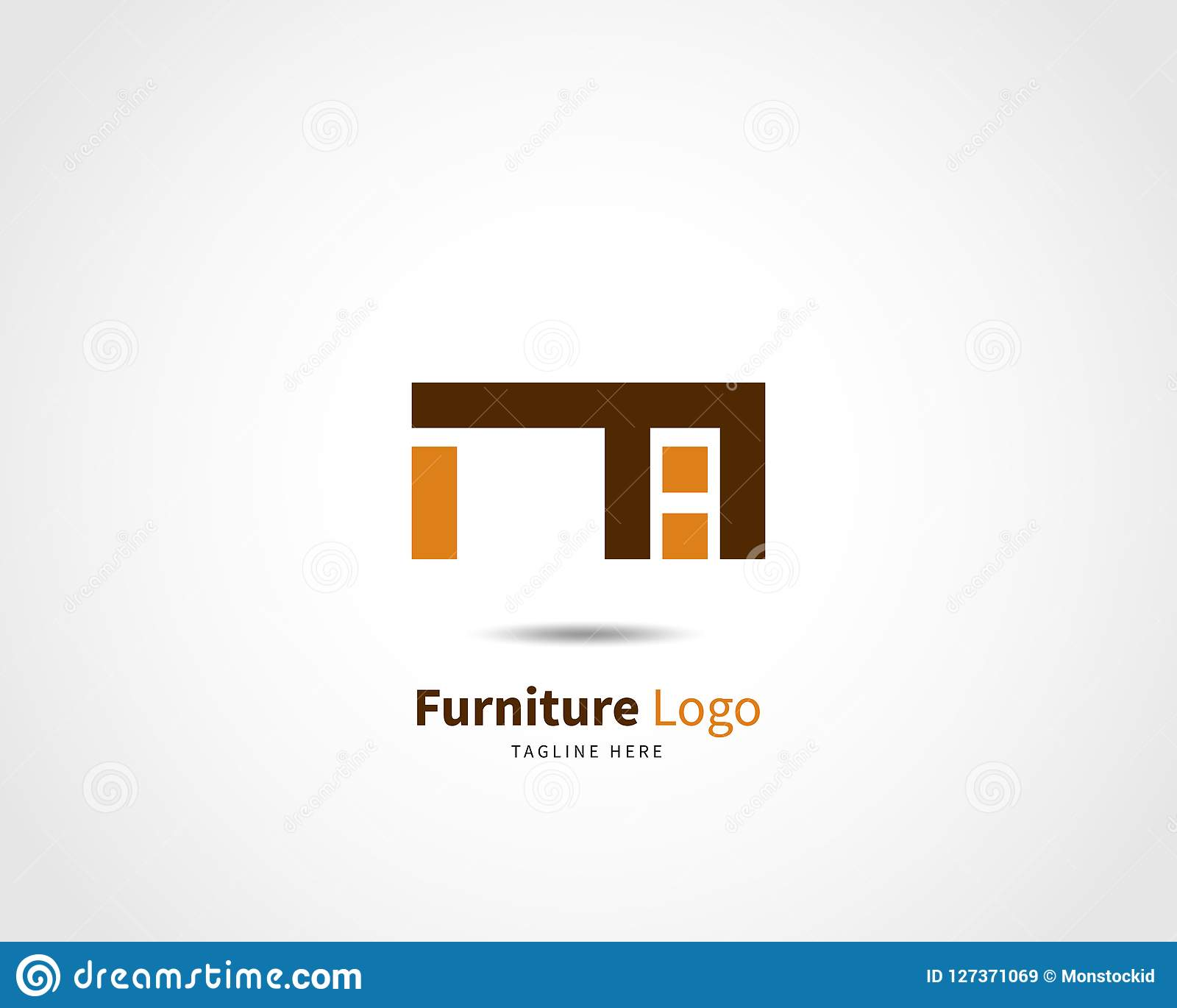 Modern Furniture Logo Design