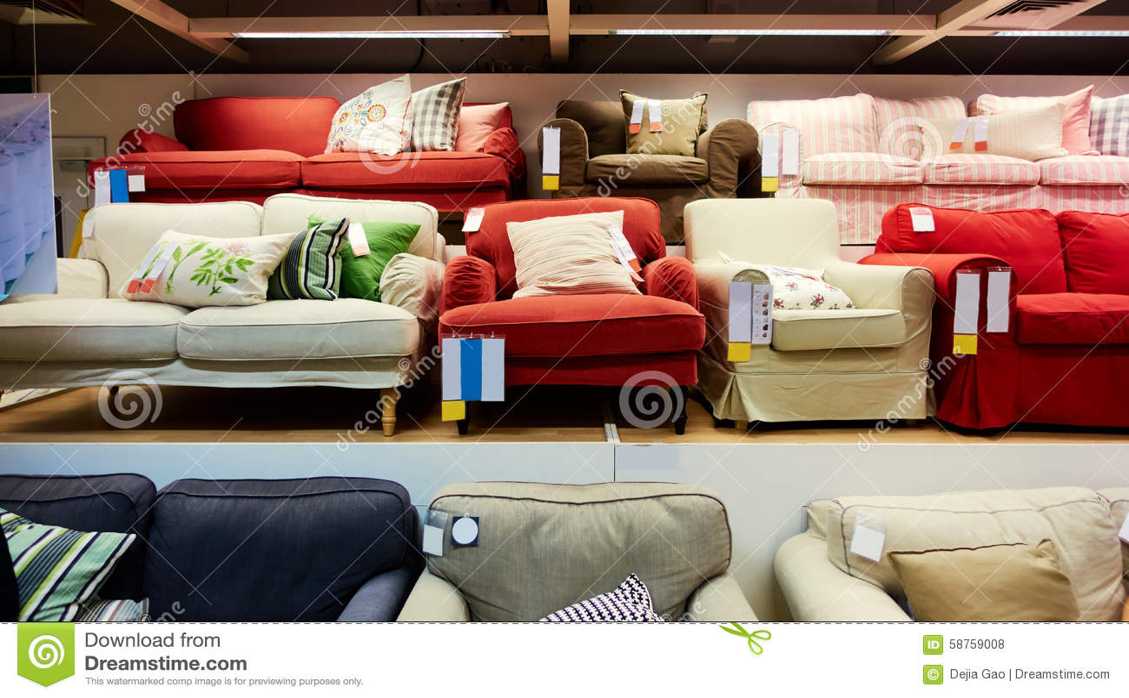 Furniture Store Shop Stock Photo Image 58759008