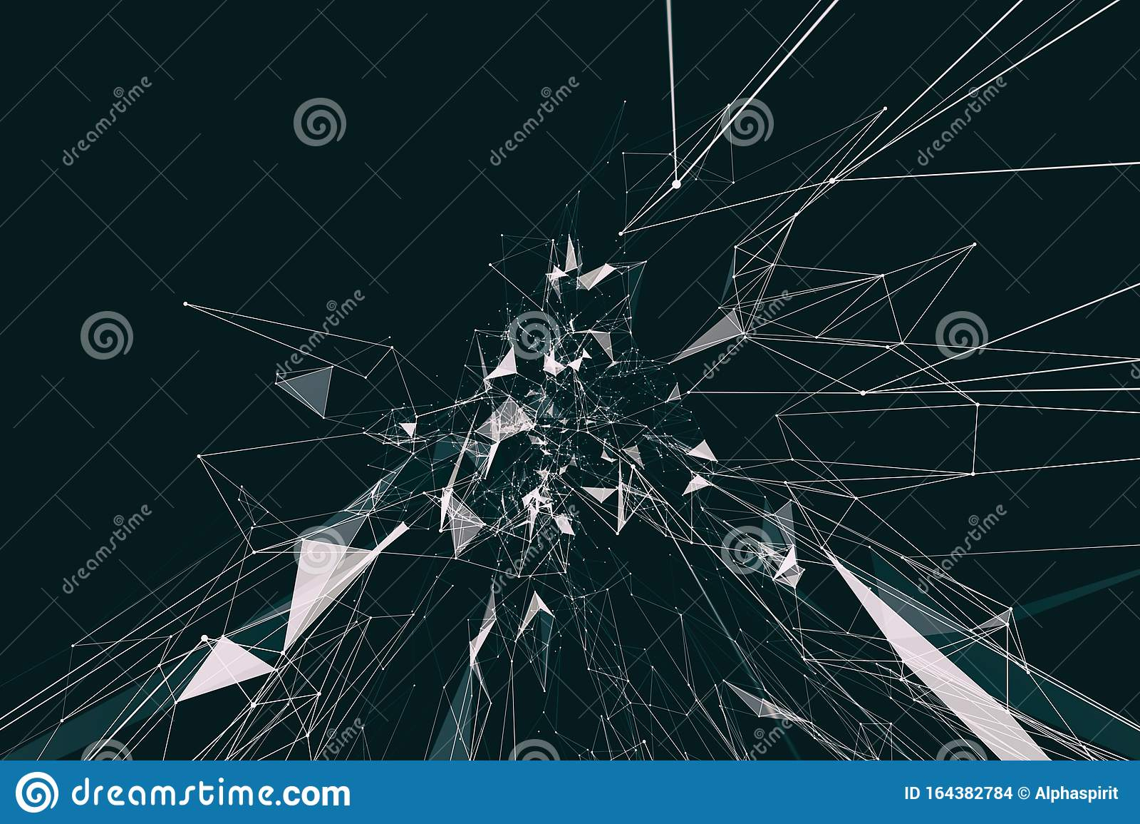 Modern futuristic network design. Internet connection concept