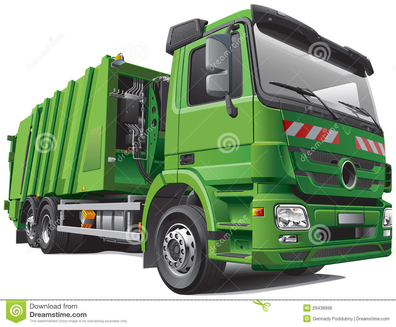 Free coloring pages garbage truck - Coloring Pages Garbage Truck Green Truck Clipart Free Modern Garbage Truck