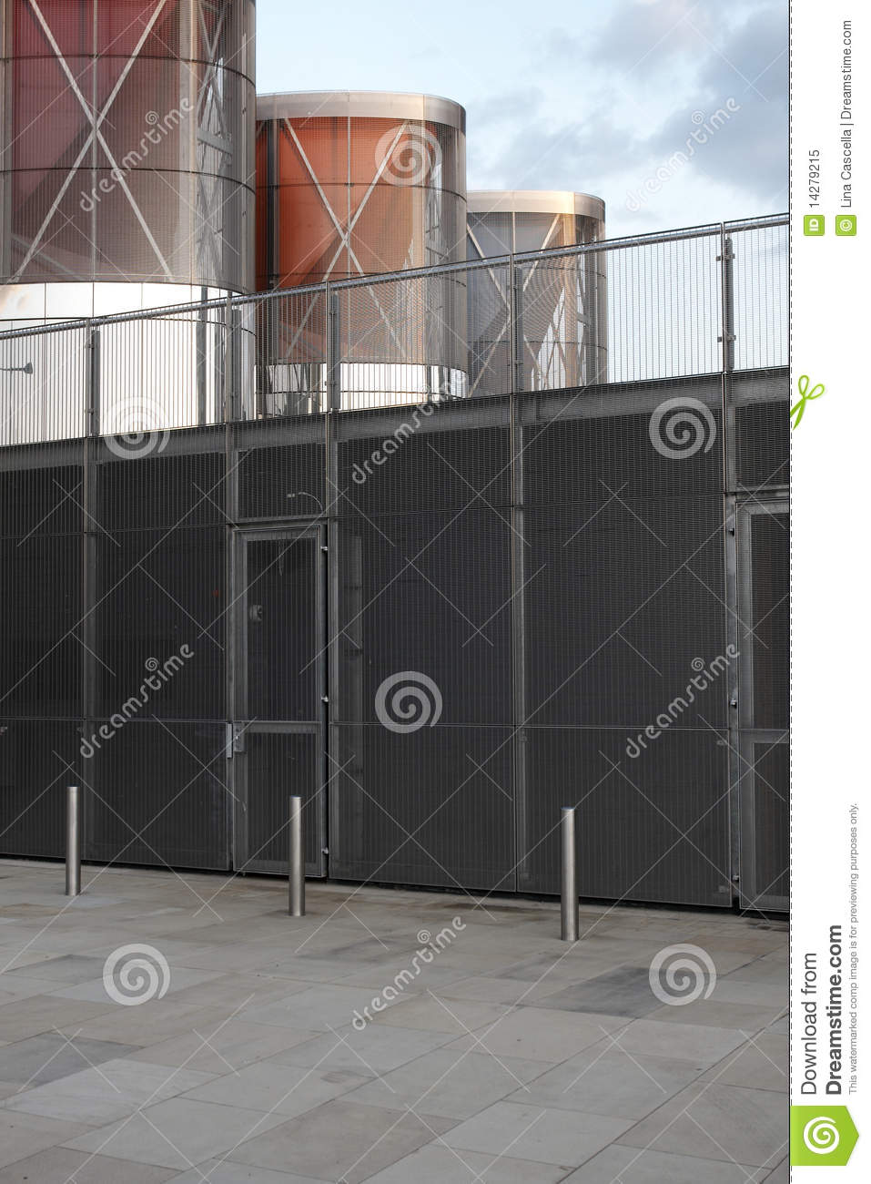 Modern Gate Royalty Free Stock Photo Image 14279215
