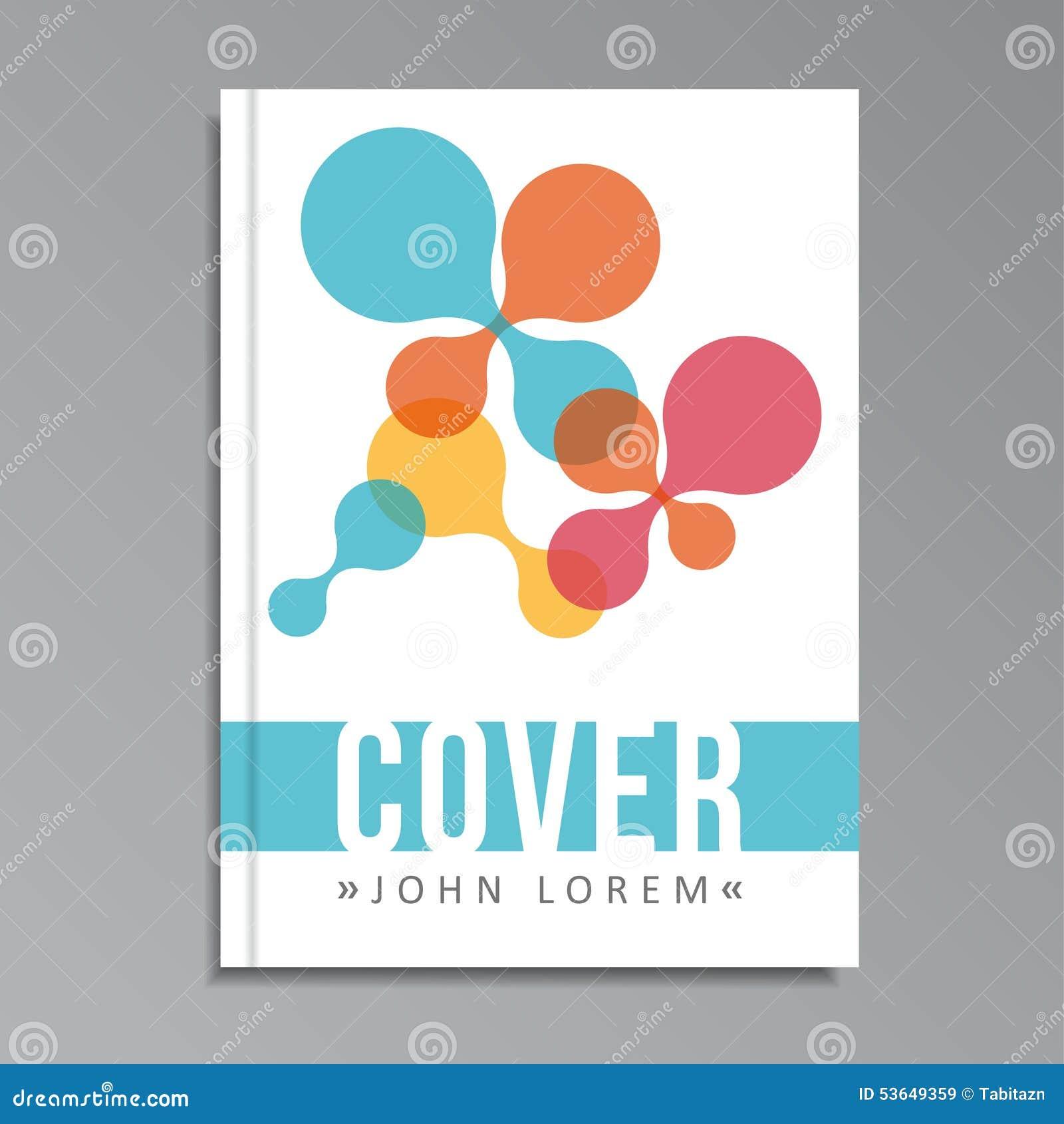 Modern Cookbook Cover : Modern cover vector illustration cartoondealer