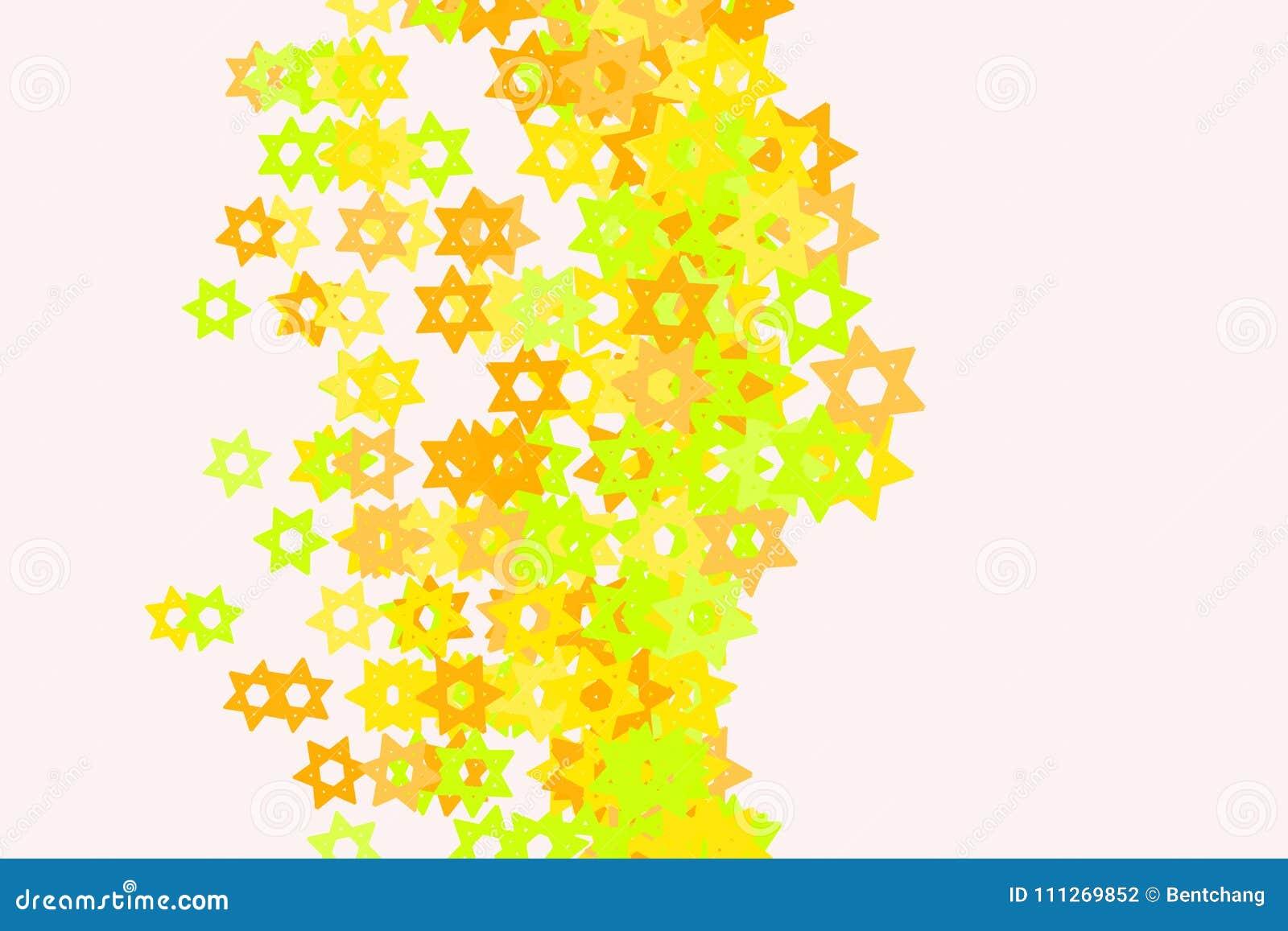 modern geometrical star background pattern abstract shape white