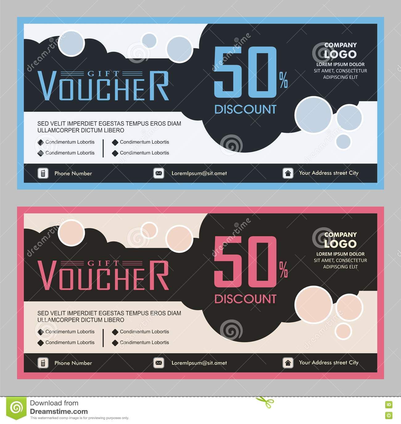 gift card dimensions stock image modern gift voucher coupon template design 5579