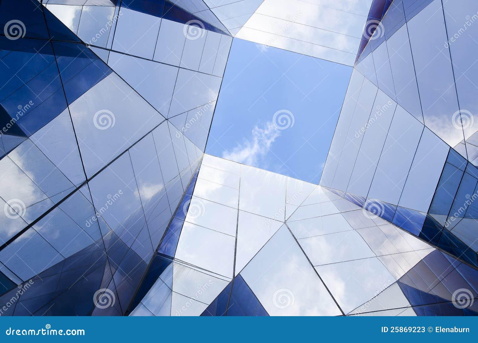 Modern glass arkitektur