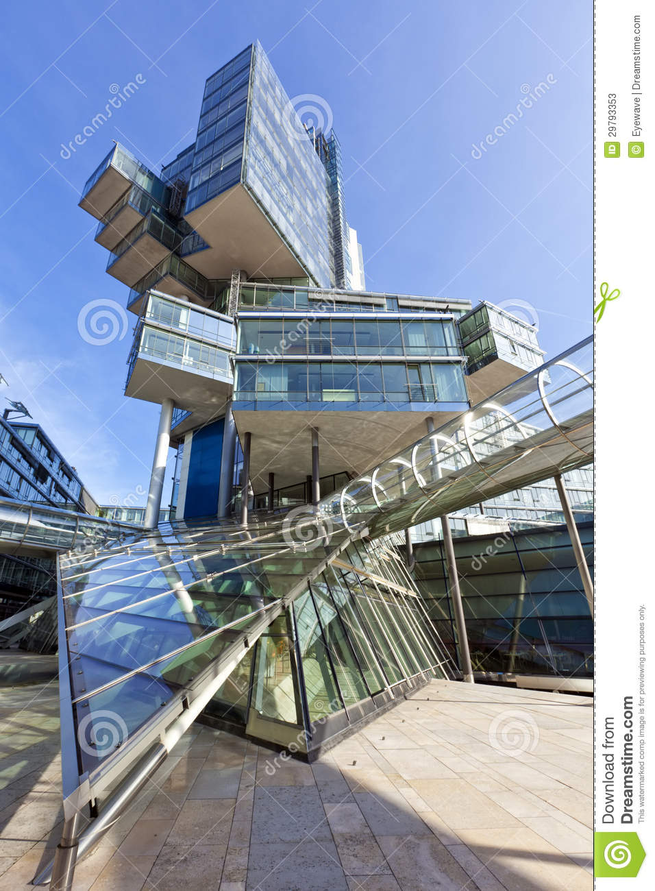 Modern Architecture Germany modern architecture at hannover, germany stock photos - image