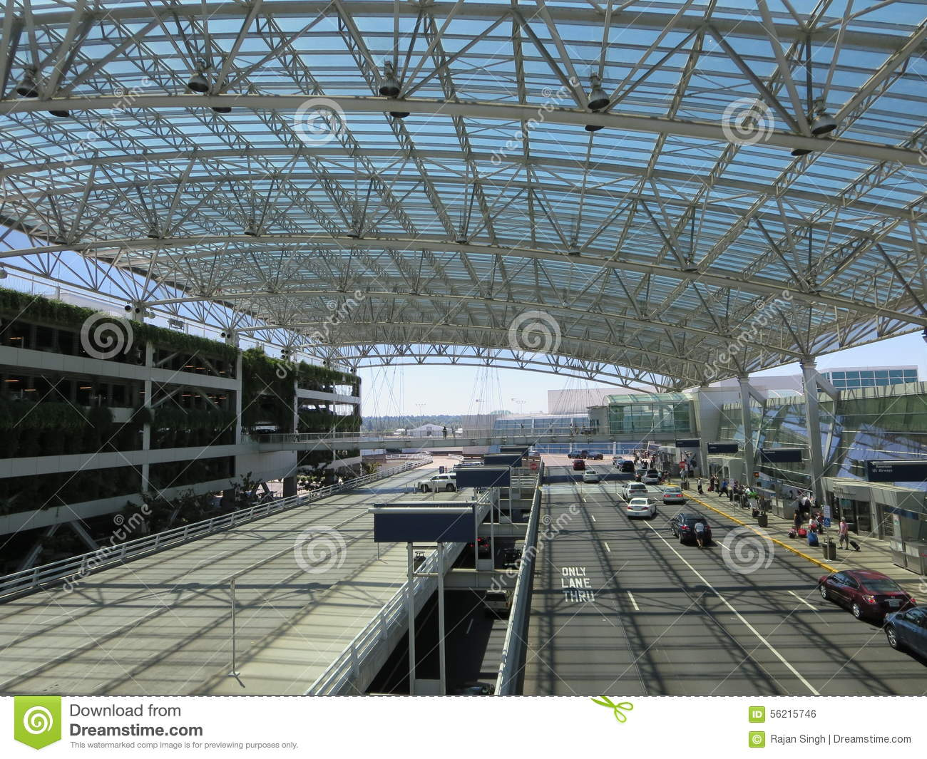 Royalty Free Stock Photo. Download Modern Glass Metal Roof ...