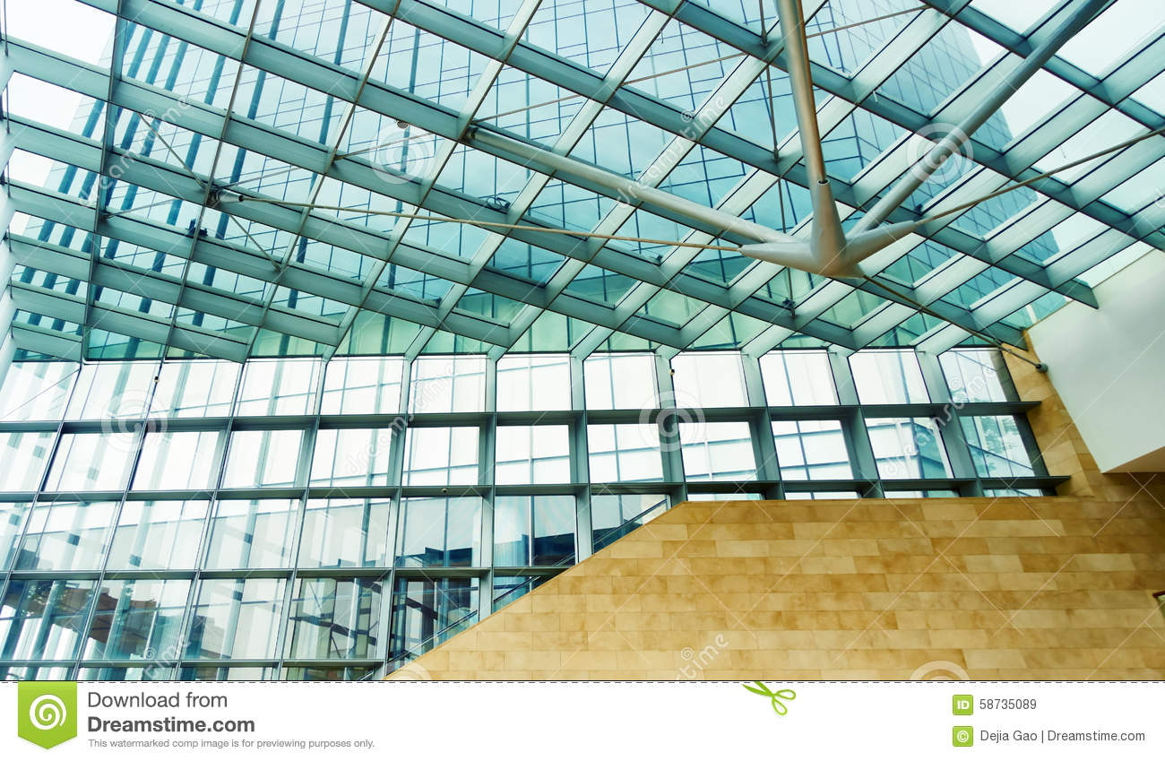 Modern Glass Office Building Stock Photo - Image: 58735089