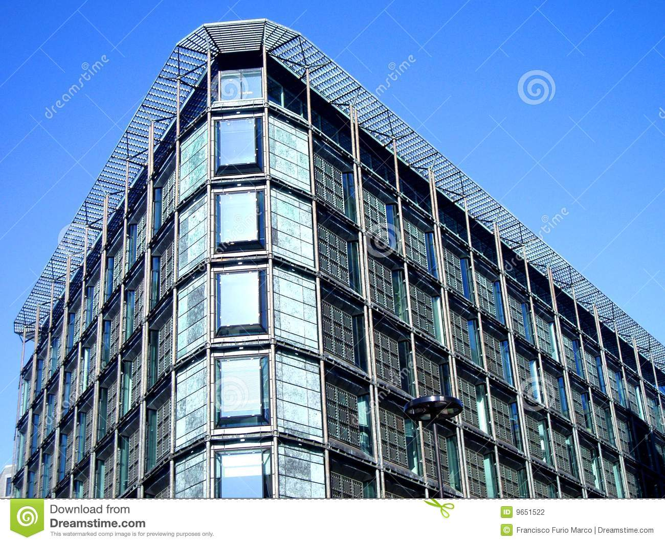 Modern Glass And Steel Building Stock Photography Image