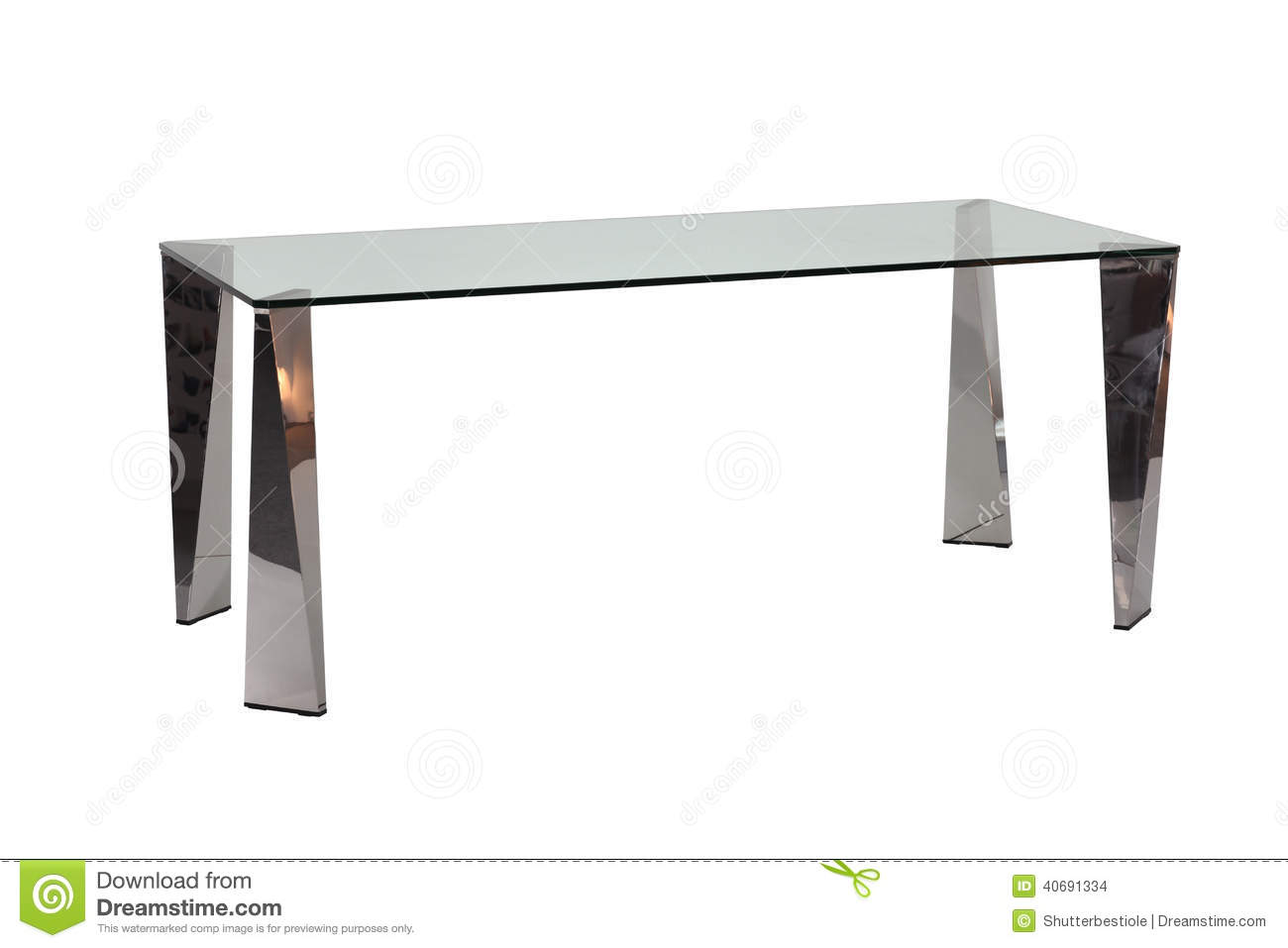 Modern Glass Top Dining Table Stock Photo Image 40691334 : modern glass top dining table edged out shot white background 40691334 from www.dreamstime.com size 1300 x 957 jpeg 52kB