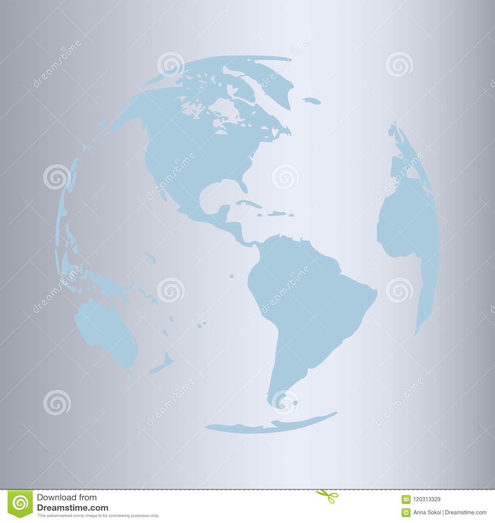 Gold world map design stock vector illustration of banner 120313329 gold world map design gumiabroncs Images