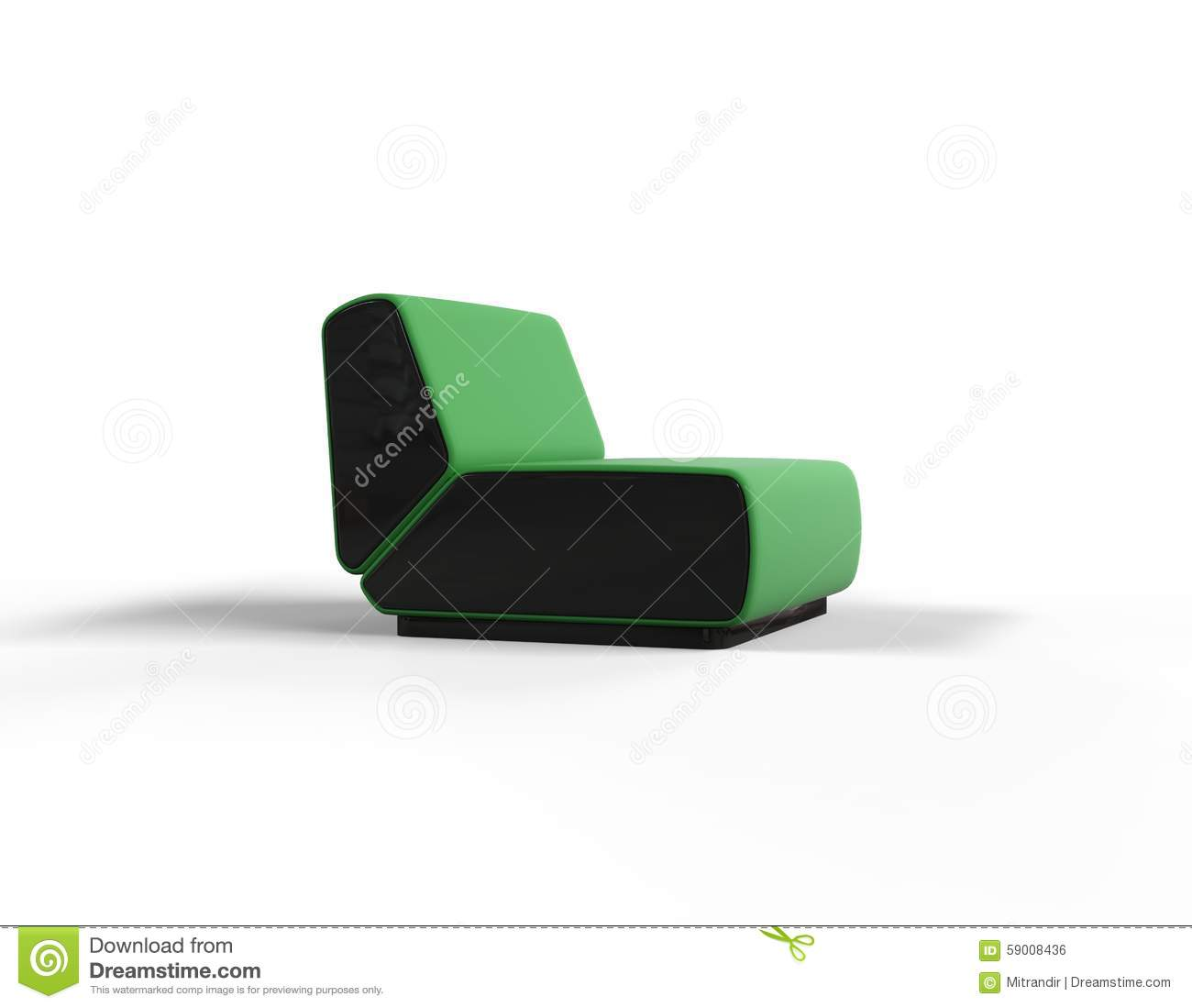 modern green chair isolated stock photo  image  - modern green chair isolated stock photo