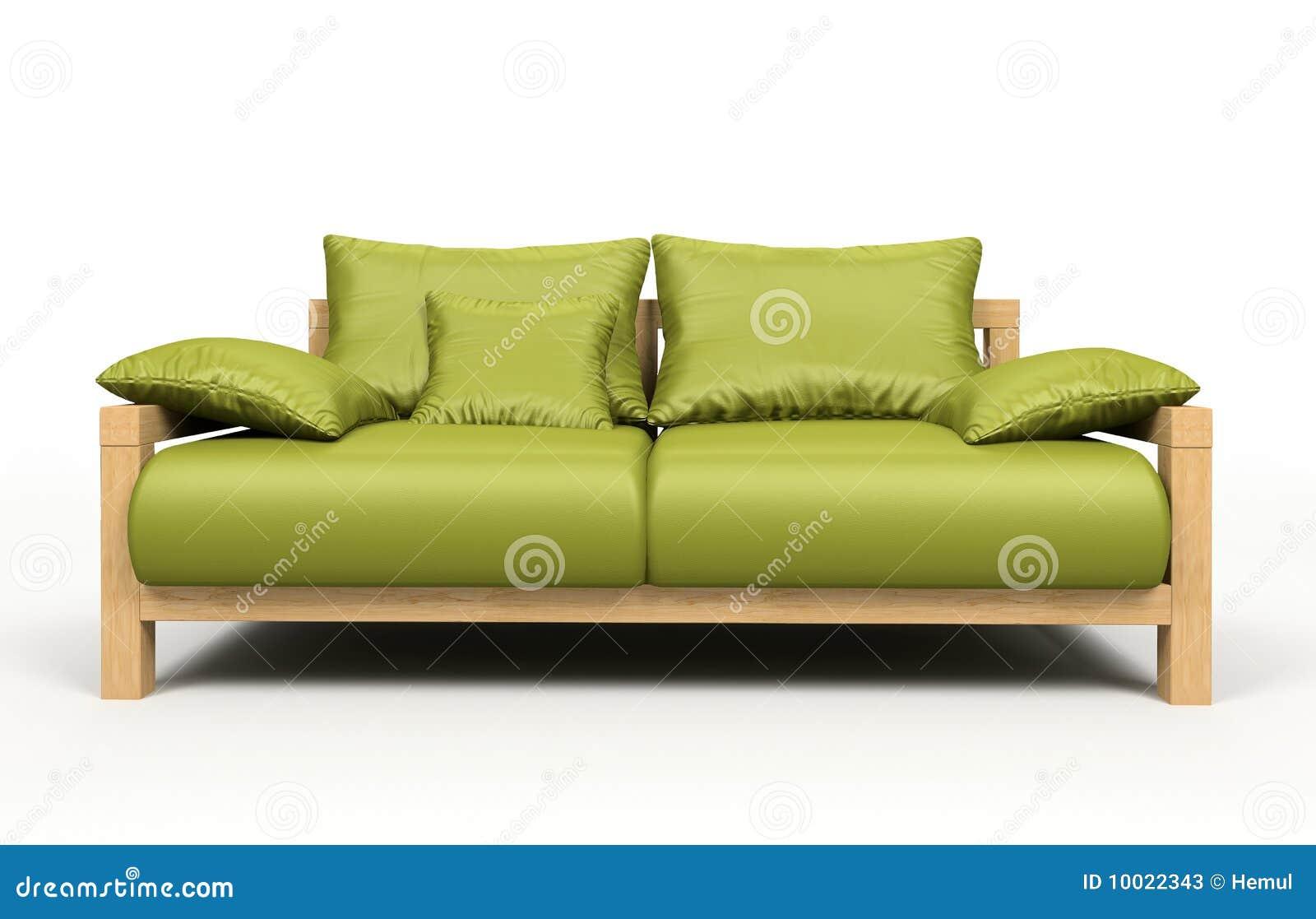 Modern Green Sofa modern green sofa stock photos - image: 10022343