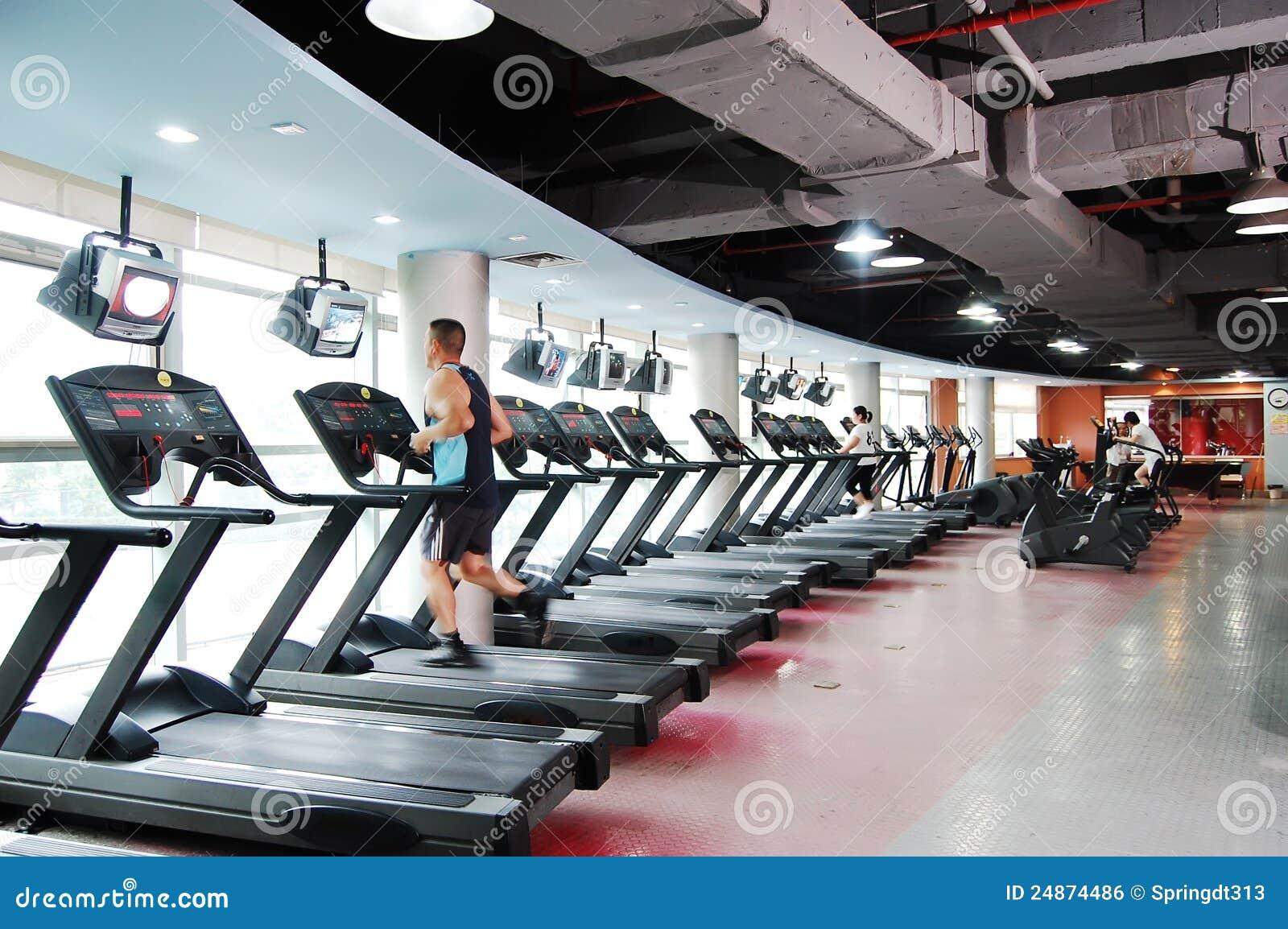 Modern Gym Editorial Photo Image 24874486