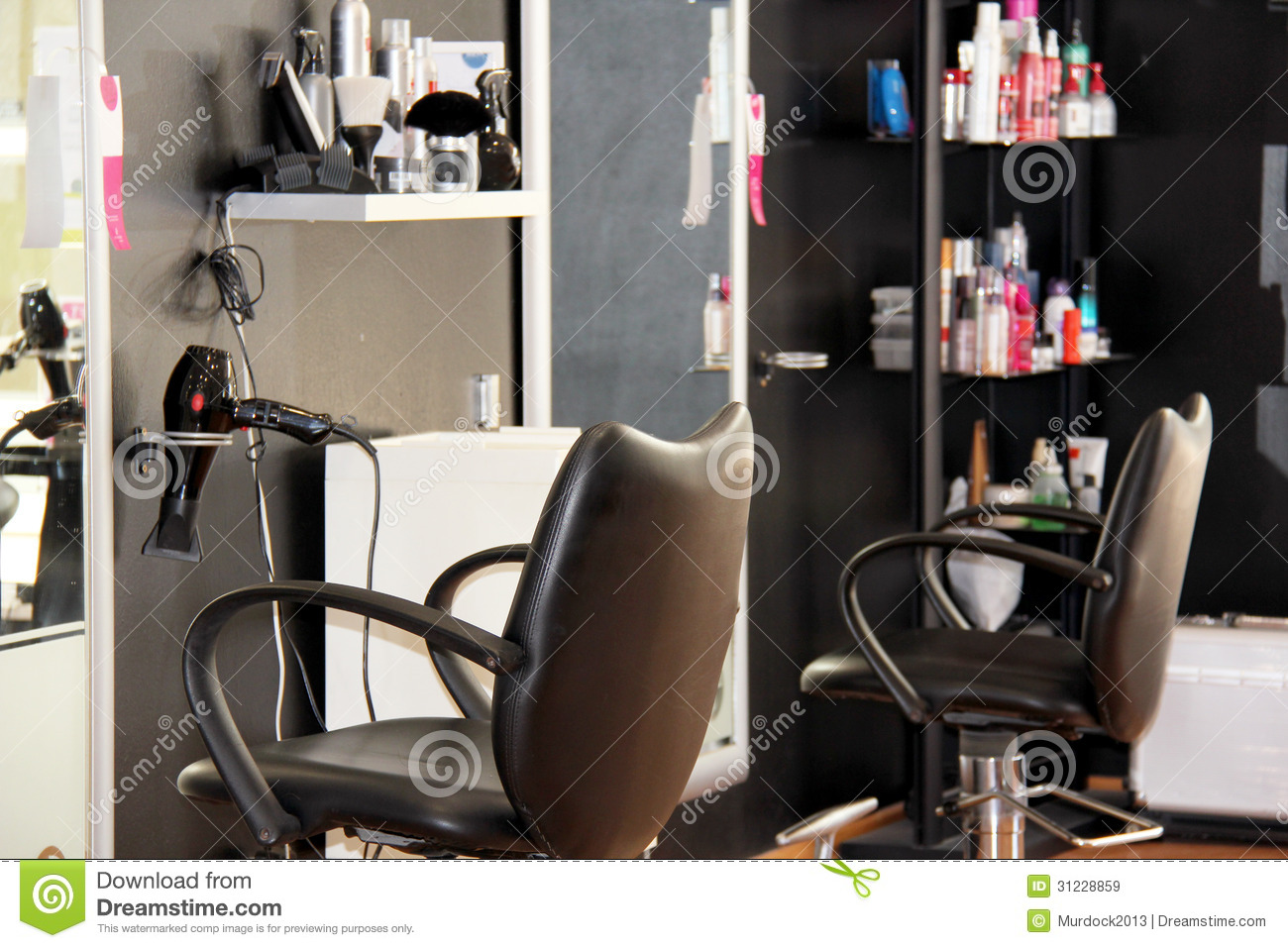 Modern hair salon royalty free stock images   image: 31228859