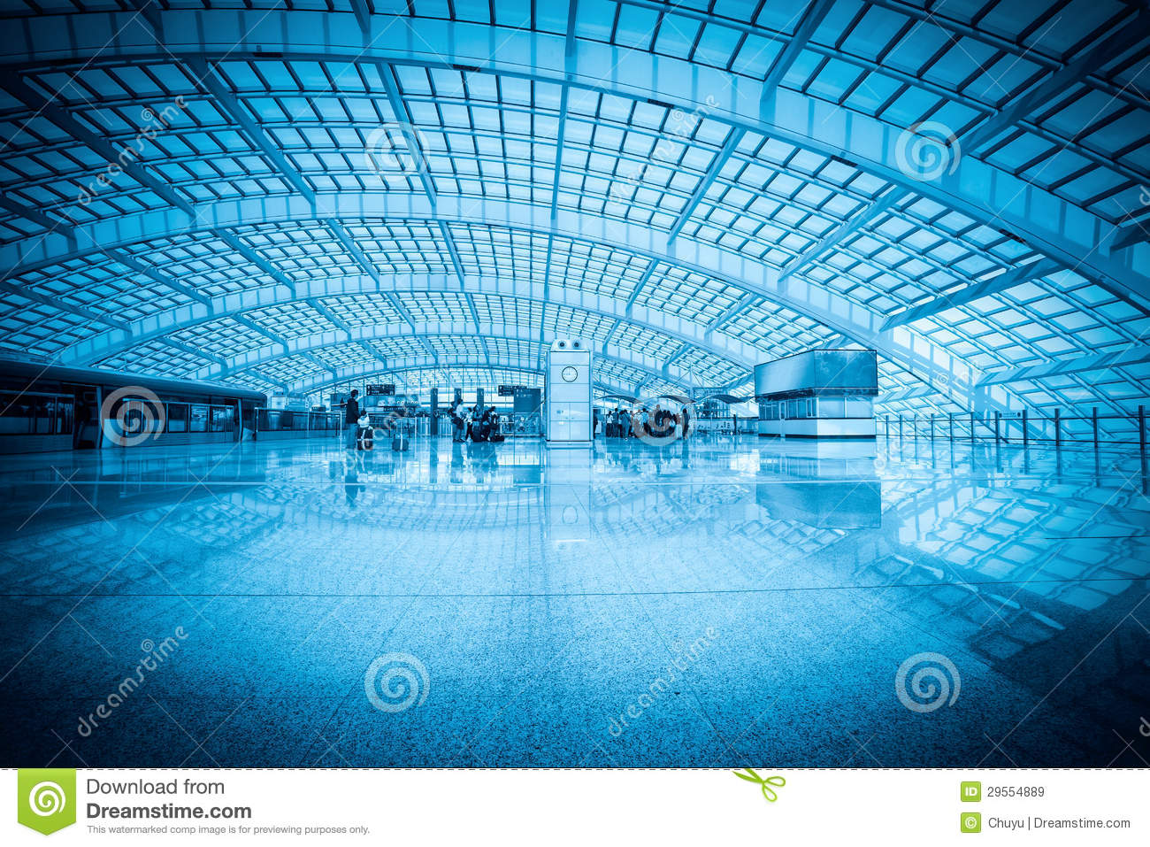 Download Modern Hall In Beijing Capital International Airport Stock Image - Image of flight, capital: 29554889