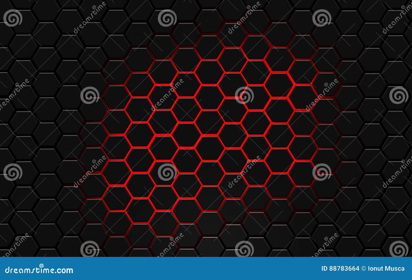 Modern Hexagon AbstractDesktop Wallpaper