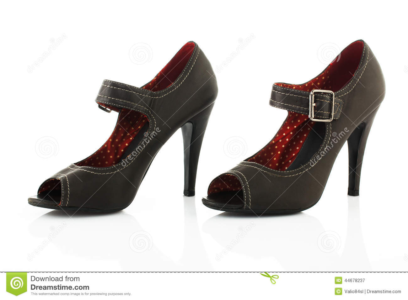 modern high heel shoes stock photo image 44678237