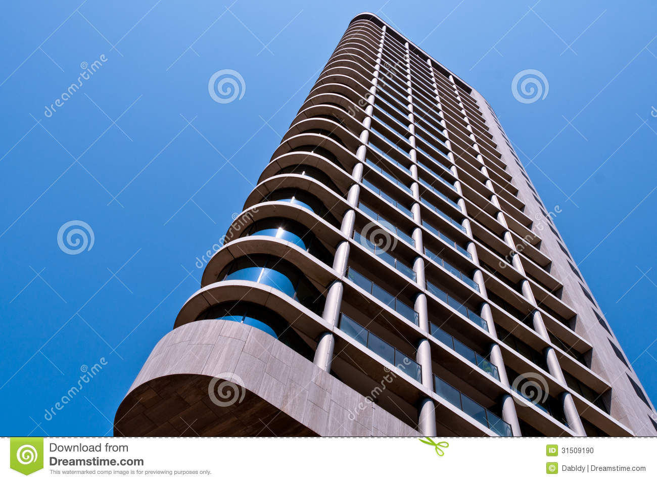 Modern high rise building stock photo image 31509190 for Modern high rise building design