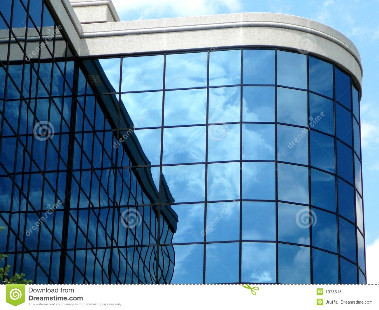 Royalty free stock photo modern high tech building