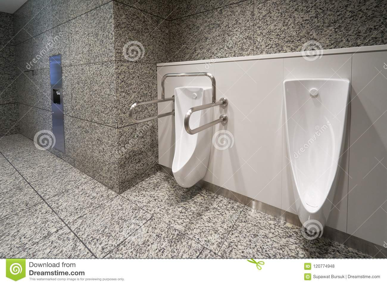 Modern High Tech Toilet With Electronic Bidet In Japan. Industry ...