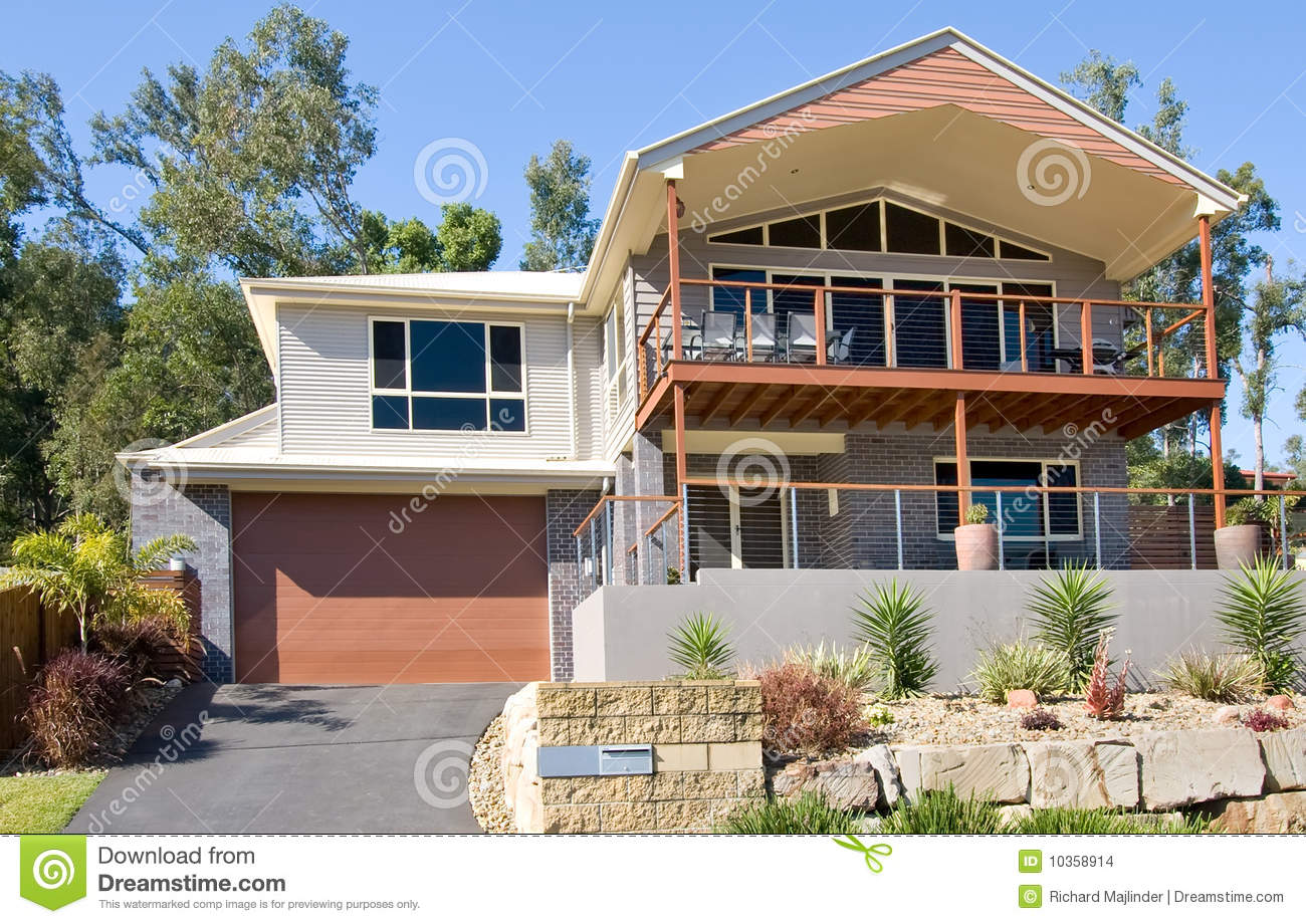 Modern highset house stock images image 10358914 for Highset house plans