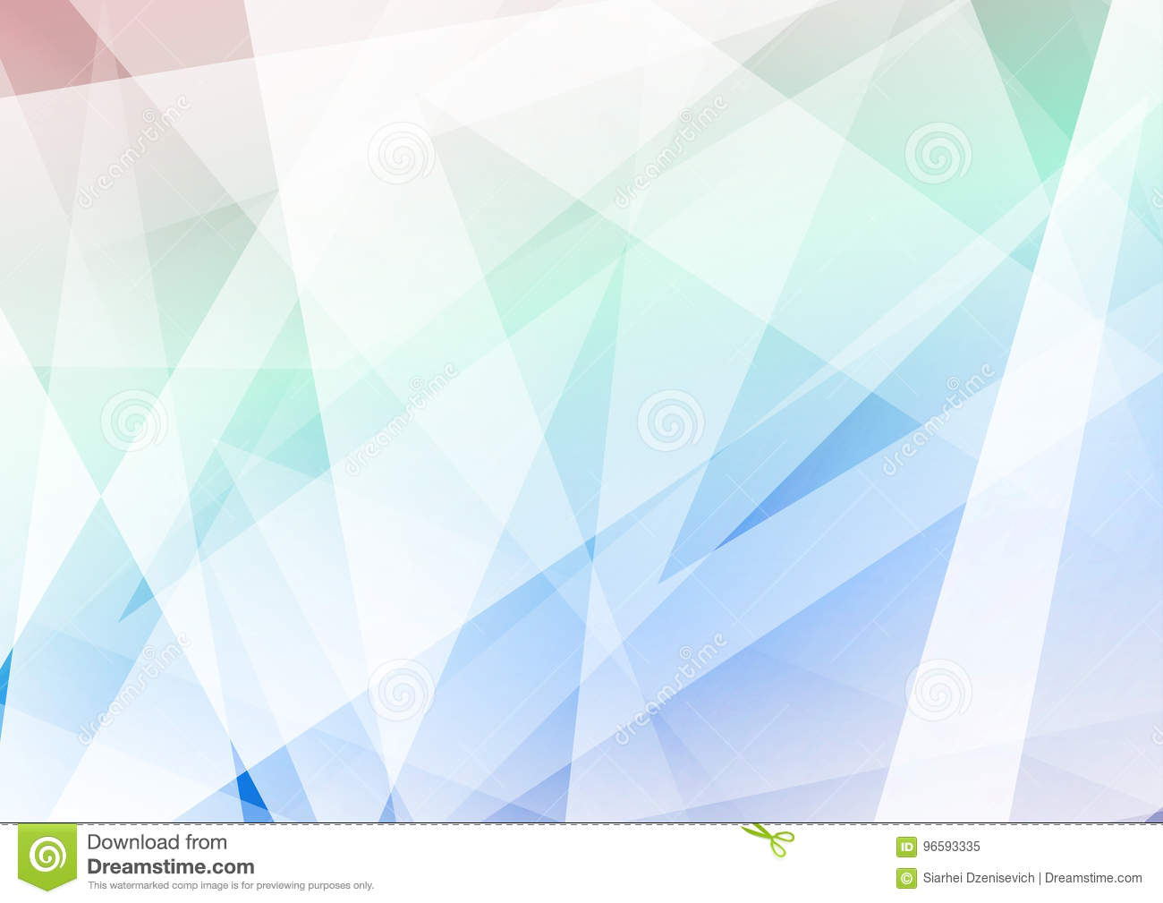 Modern Hipster Style Triangular Geometric Background Crystal Stock