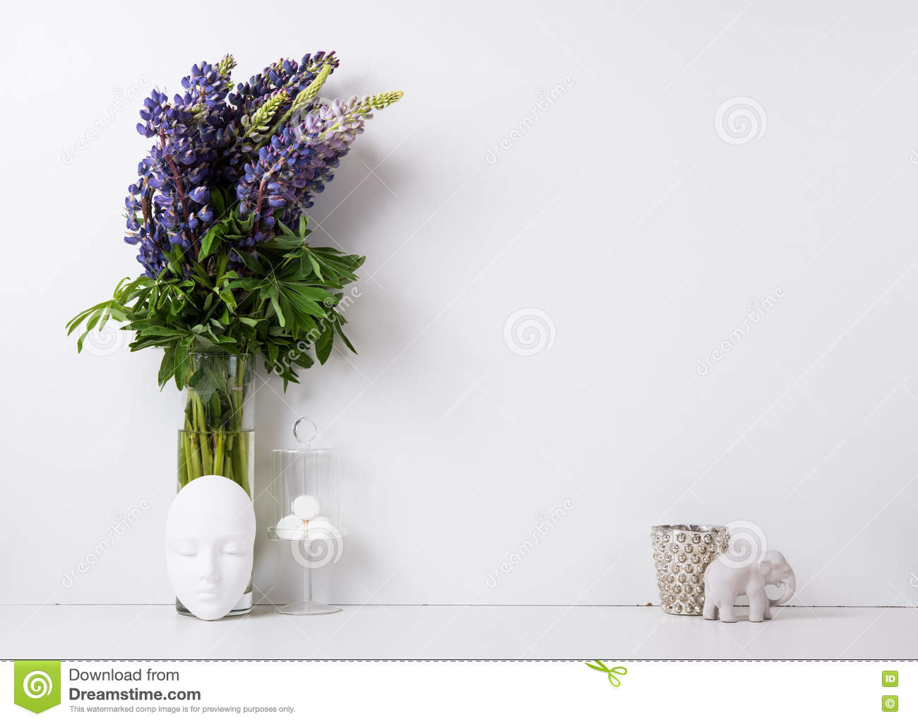 Modern Home Decor Background Stock Photo Image Of Creative