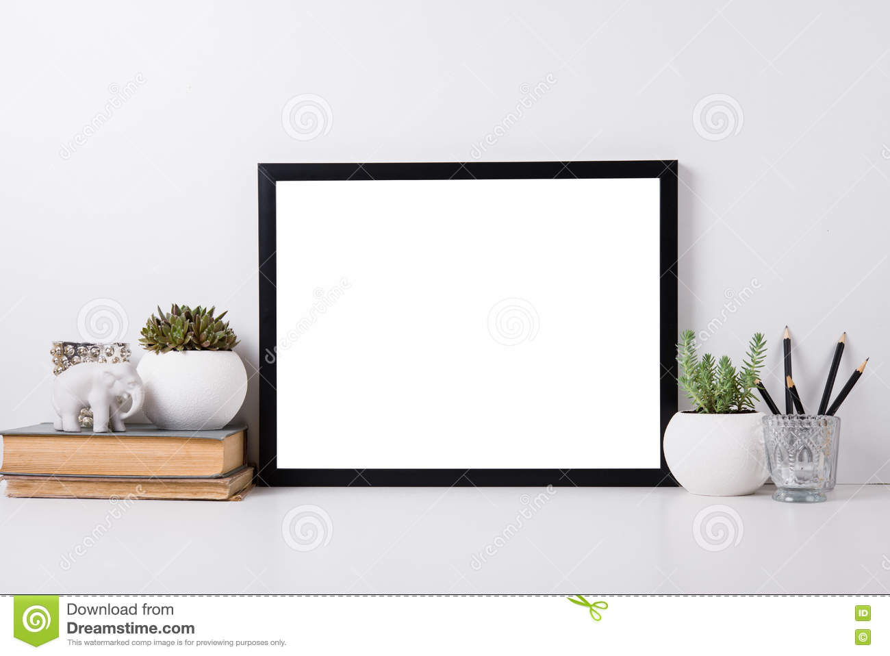 Modern home decor mock up stock photo image 71585171 - Home decoratie moderne leven ...