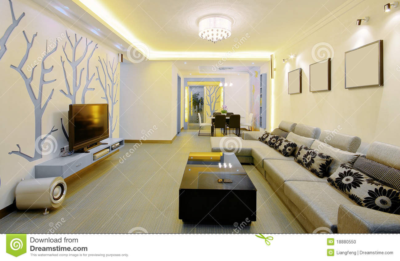 Living Room Home Decorating Style modern home decorating style stock photo image 18880550 style