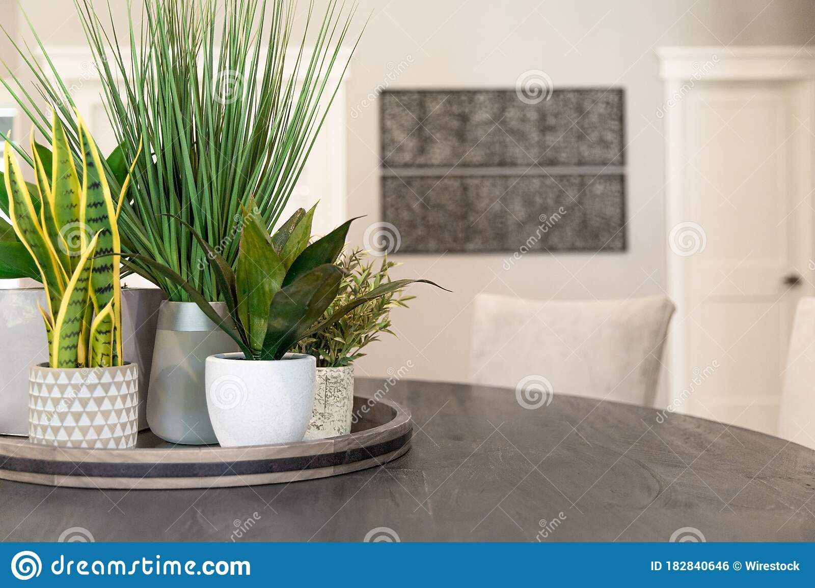 Modern Home Details Stock Photo Image Of Garden Table 182840646