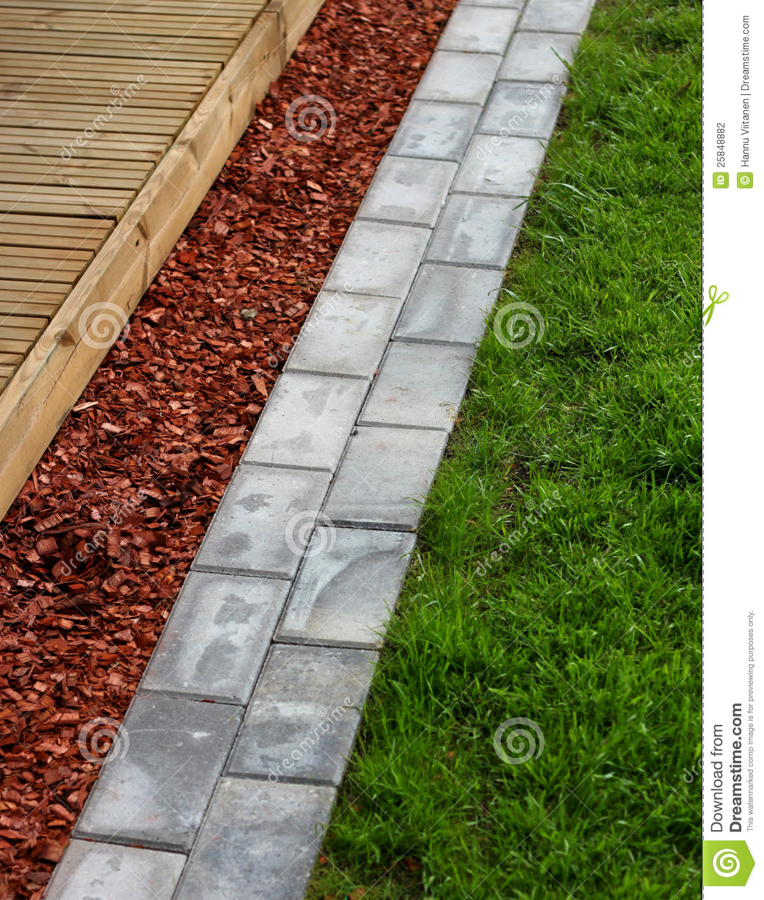 Modern Home Garden Materials Stock Photography Image 25848882