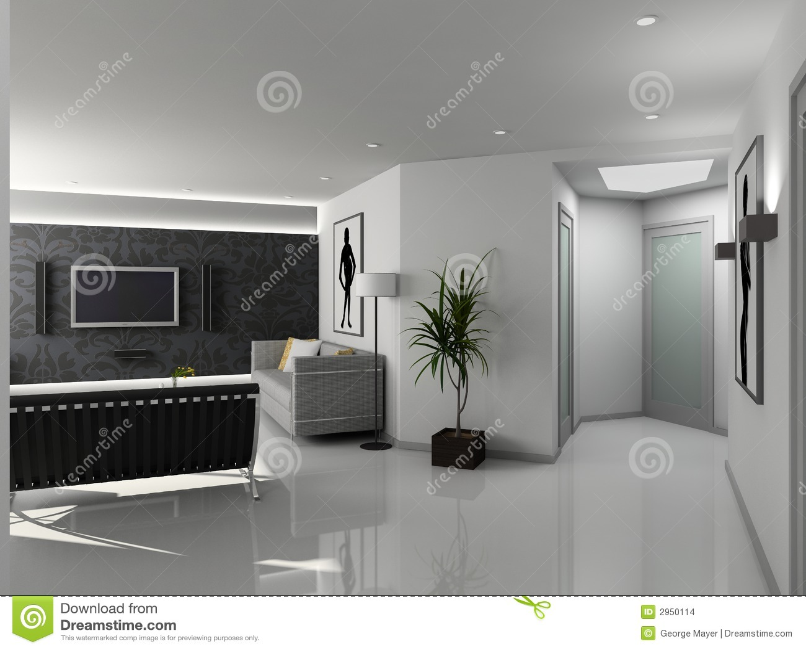 Design Home Interior Living Modern ...