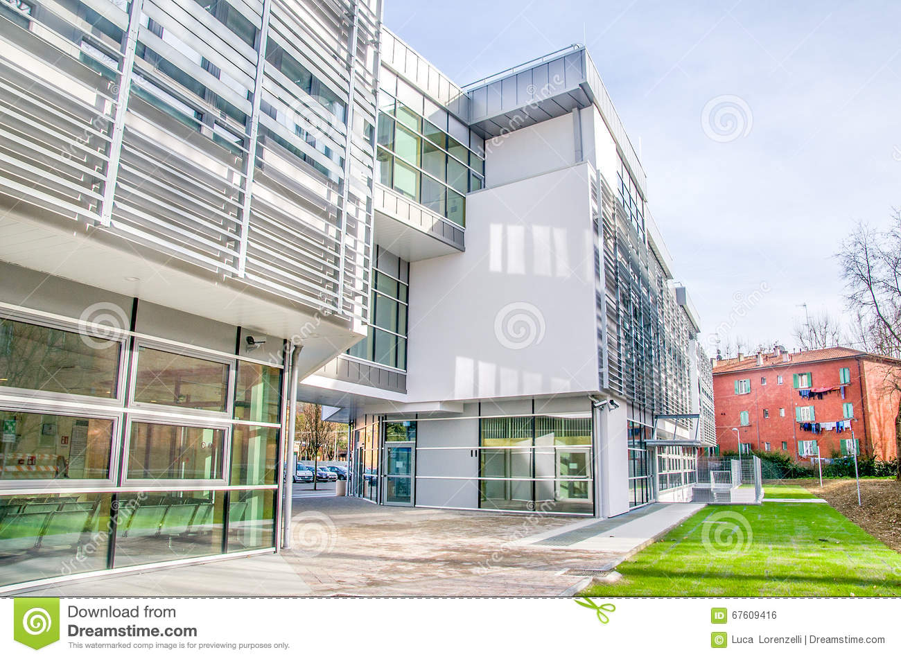 Hospital Style Building Royalty-Free Stock Image ...